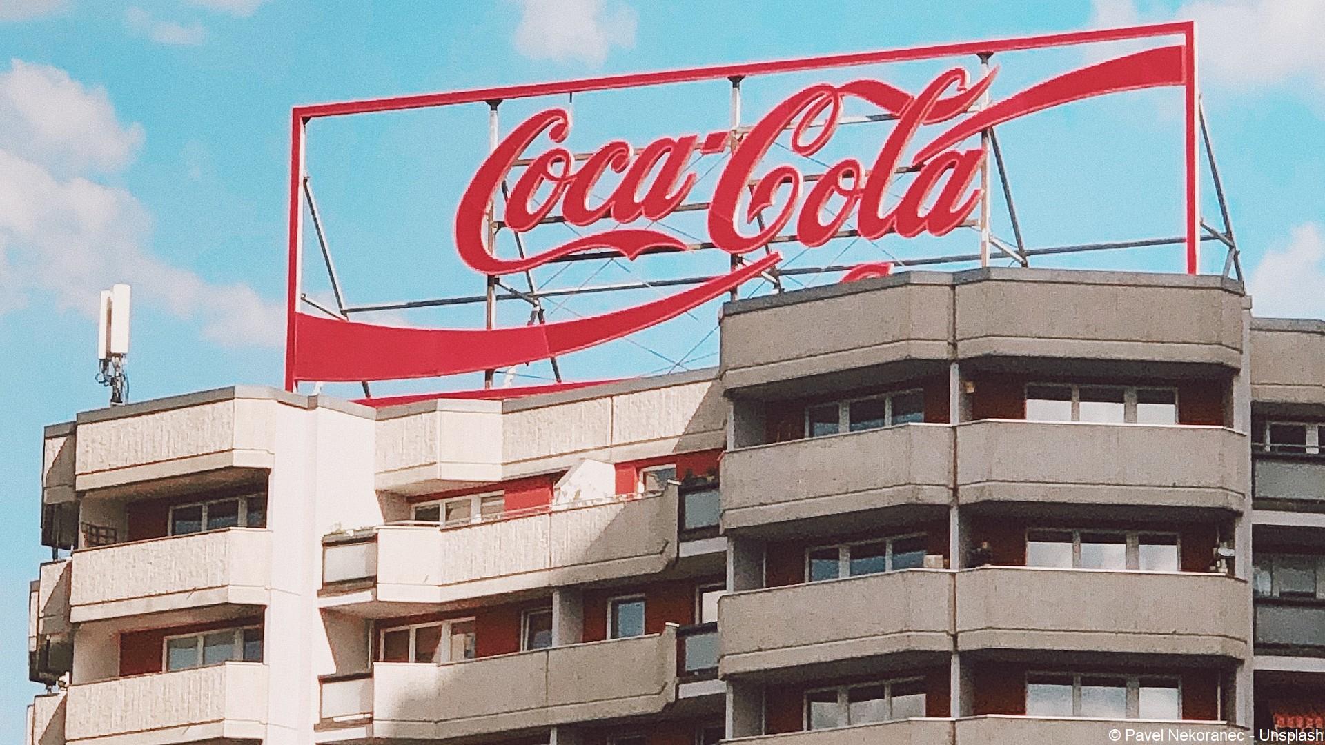 Coca-Cola (logo) entreprise (c) Pavel Nekoranec – Unsplash