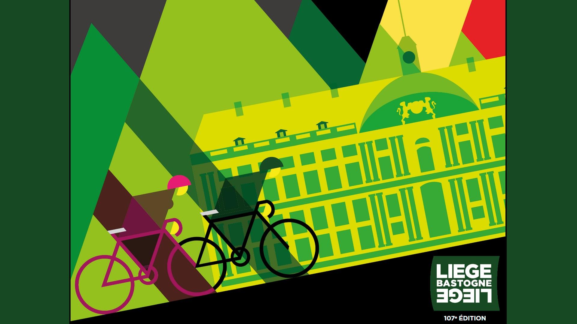 Cyclisme – Liège Bastogne Liège 2021 (1)