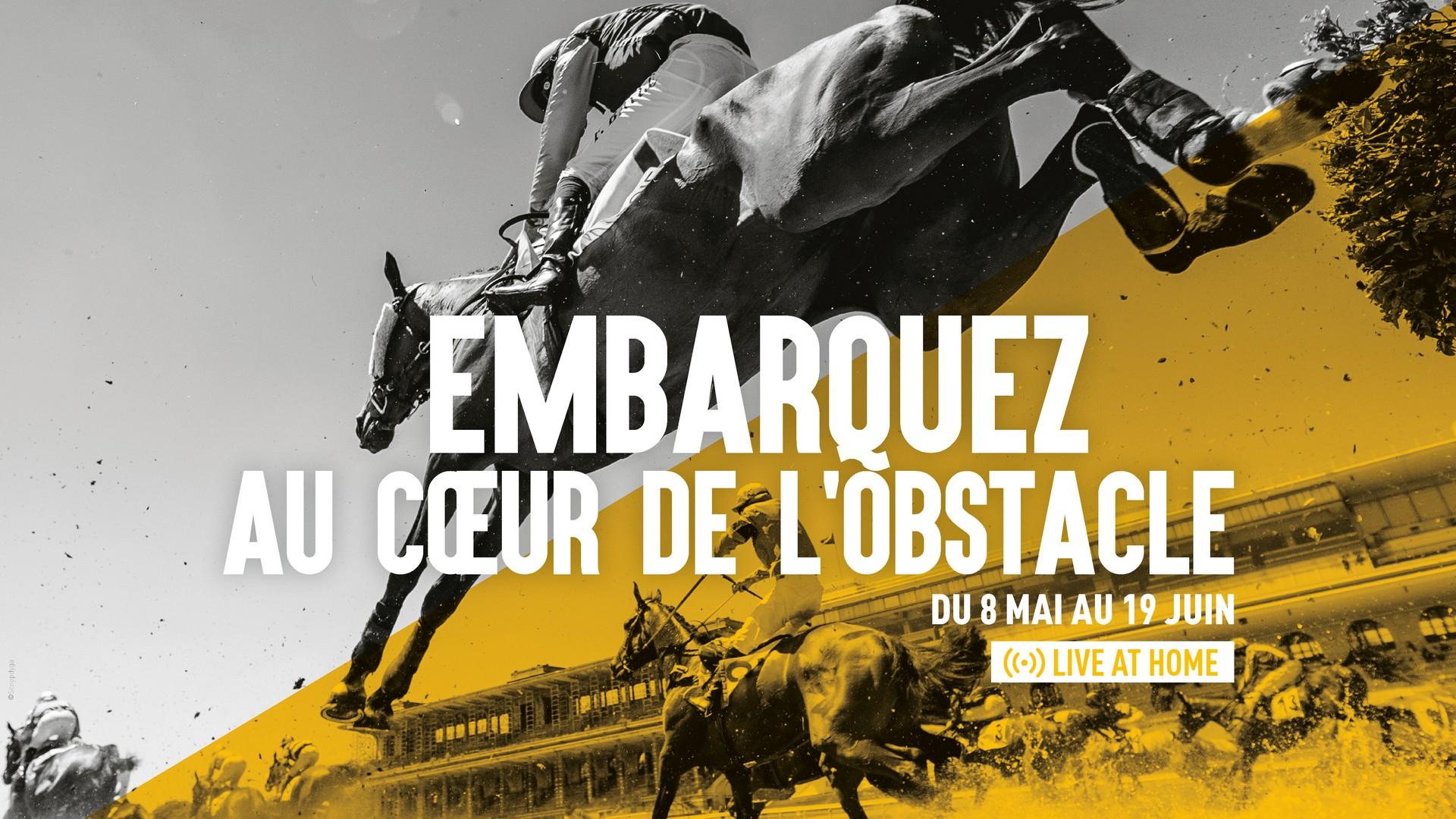 France Galop – Embarquez au coeur de l'obstacle 2021
