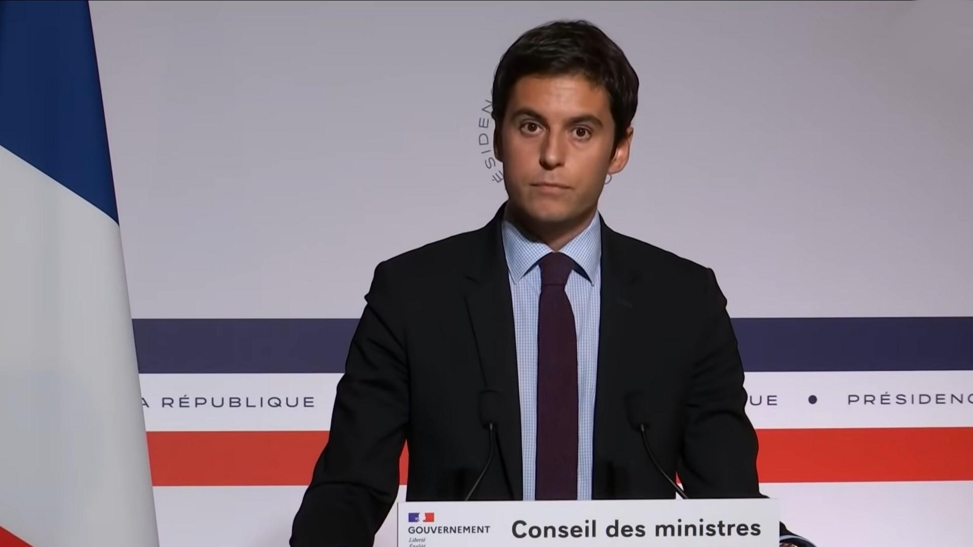 Gabriel Attal – Gouvernement