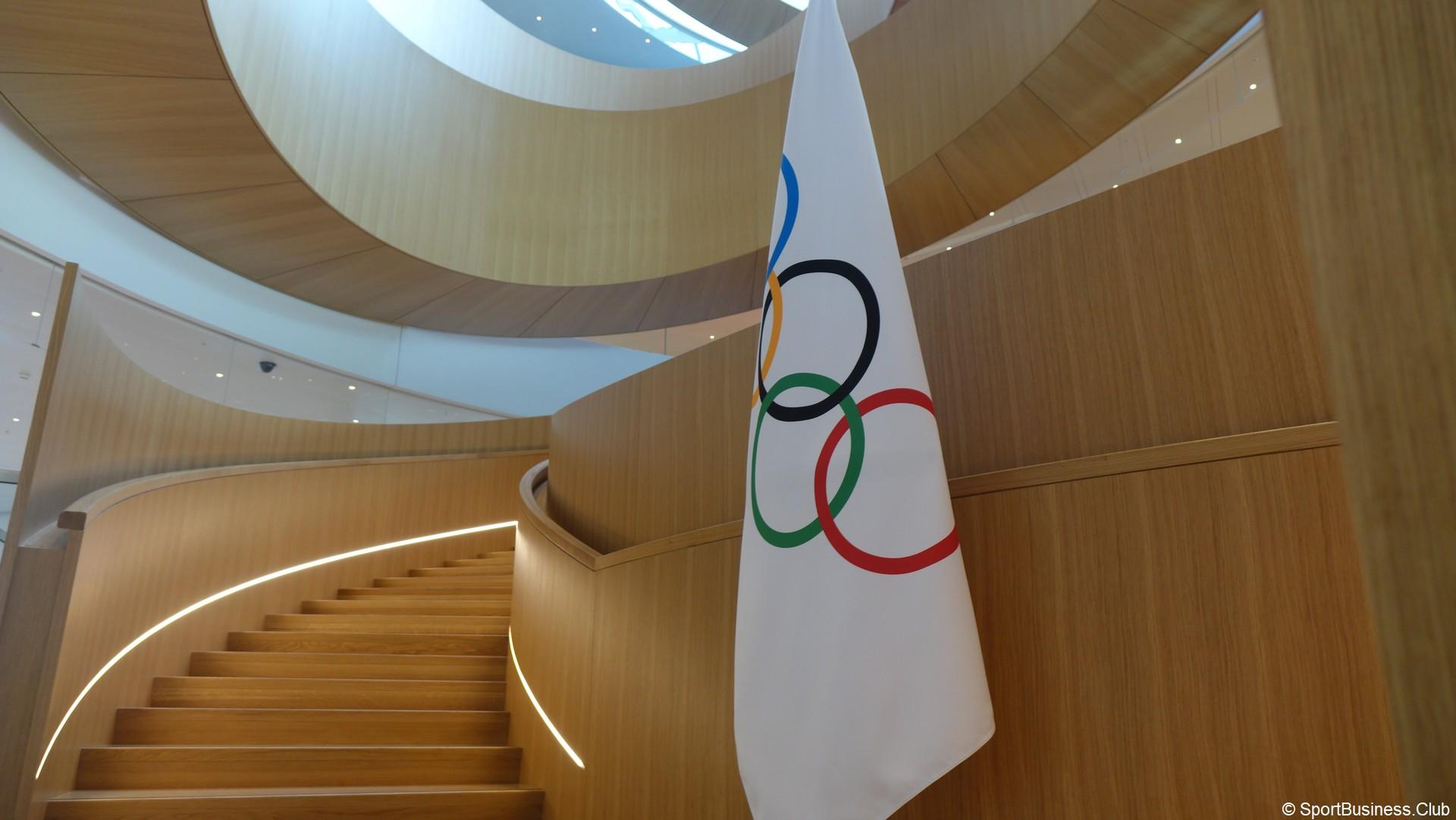 Jeux Olympiques (2) Drapeau