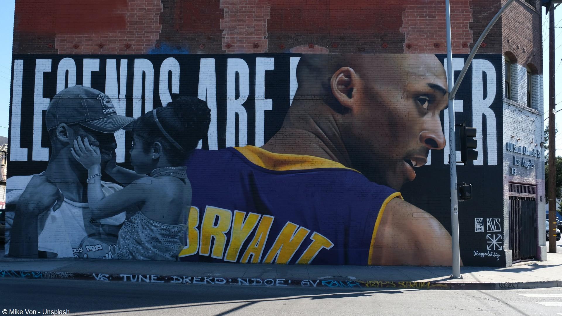 Kobe Bryant (2) Hommage LA
