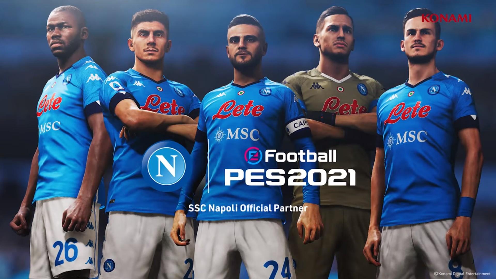 Konami x Napoli (football) 2021