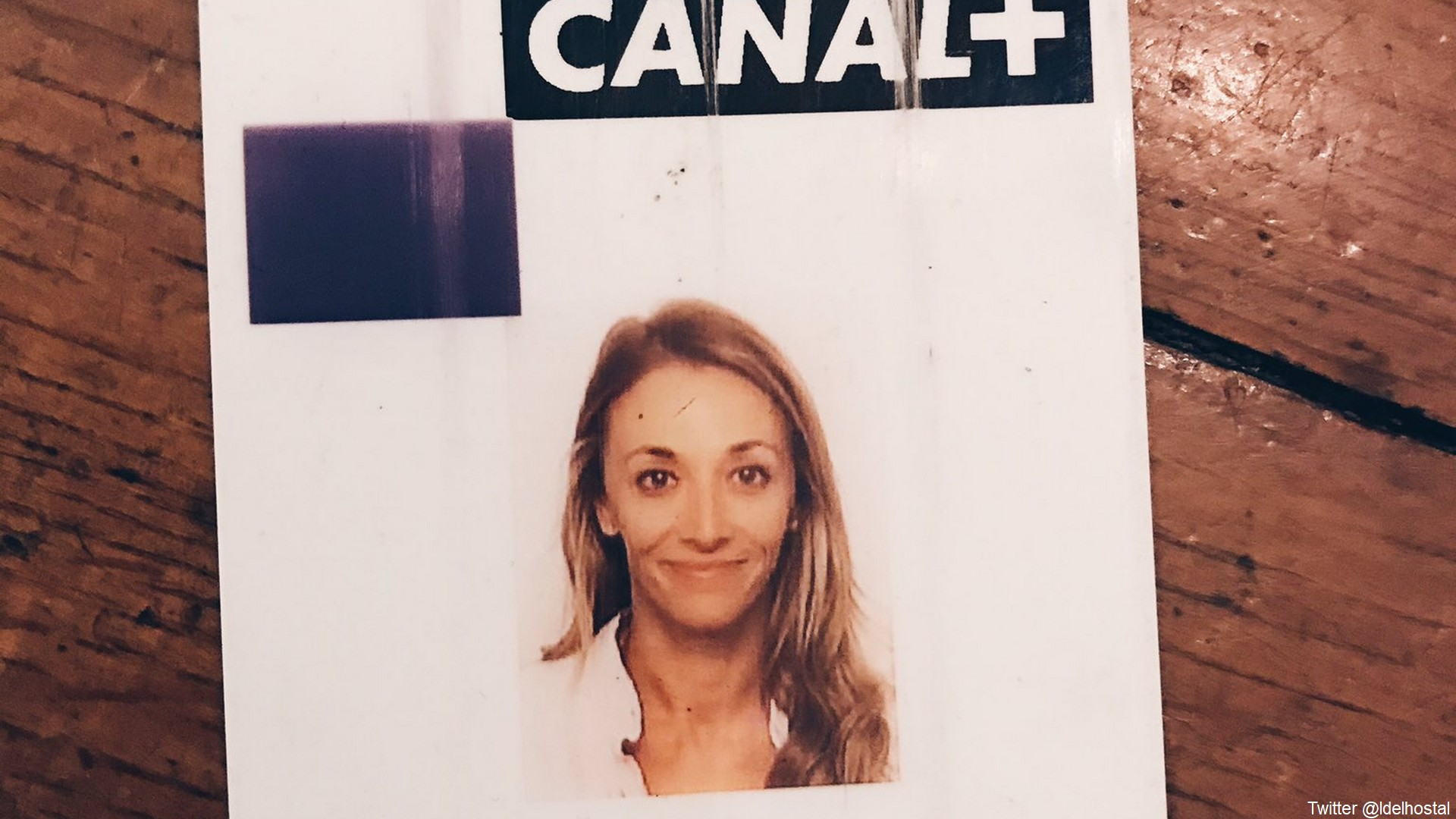 Laurie Delhostal Canal+