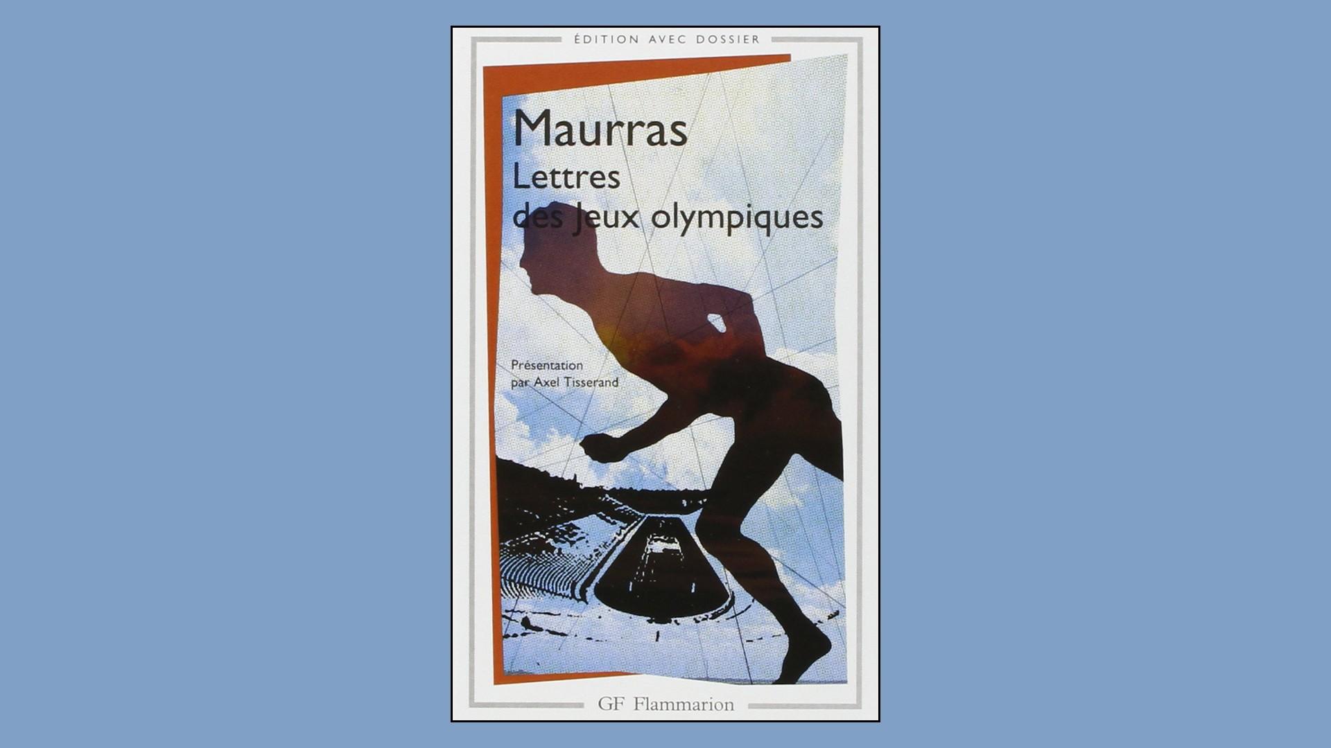 Livres – Lettres des Jeux olympiques – Charles Maurras