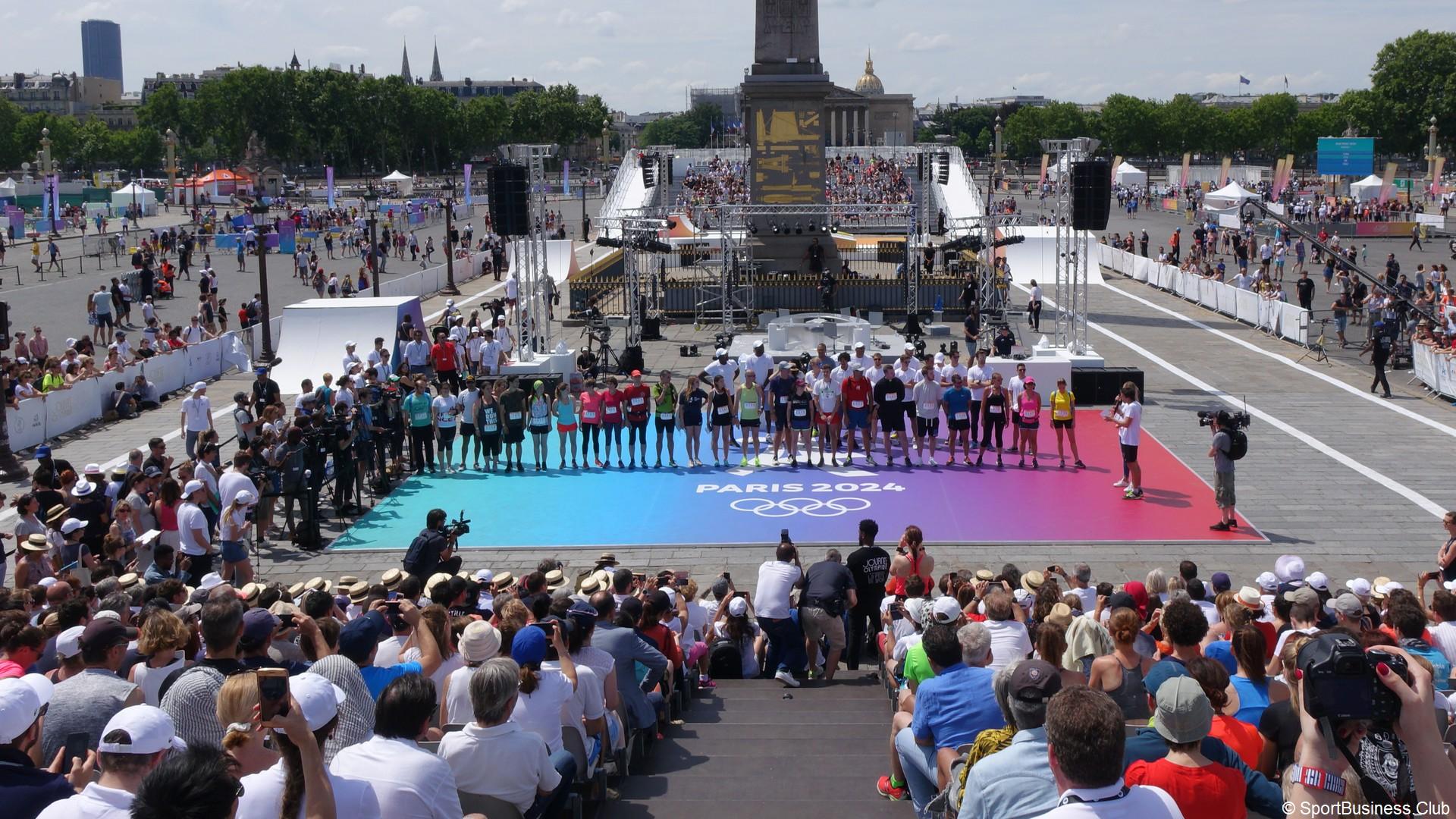 Paris 2024 – Journées Olympiques 2019 (5) Concorde