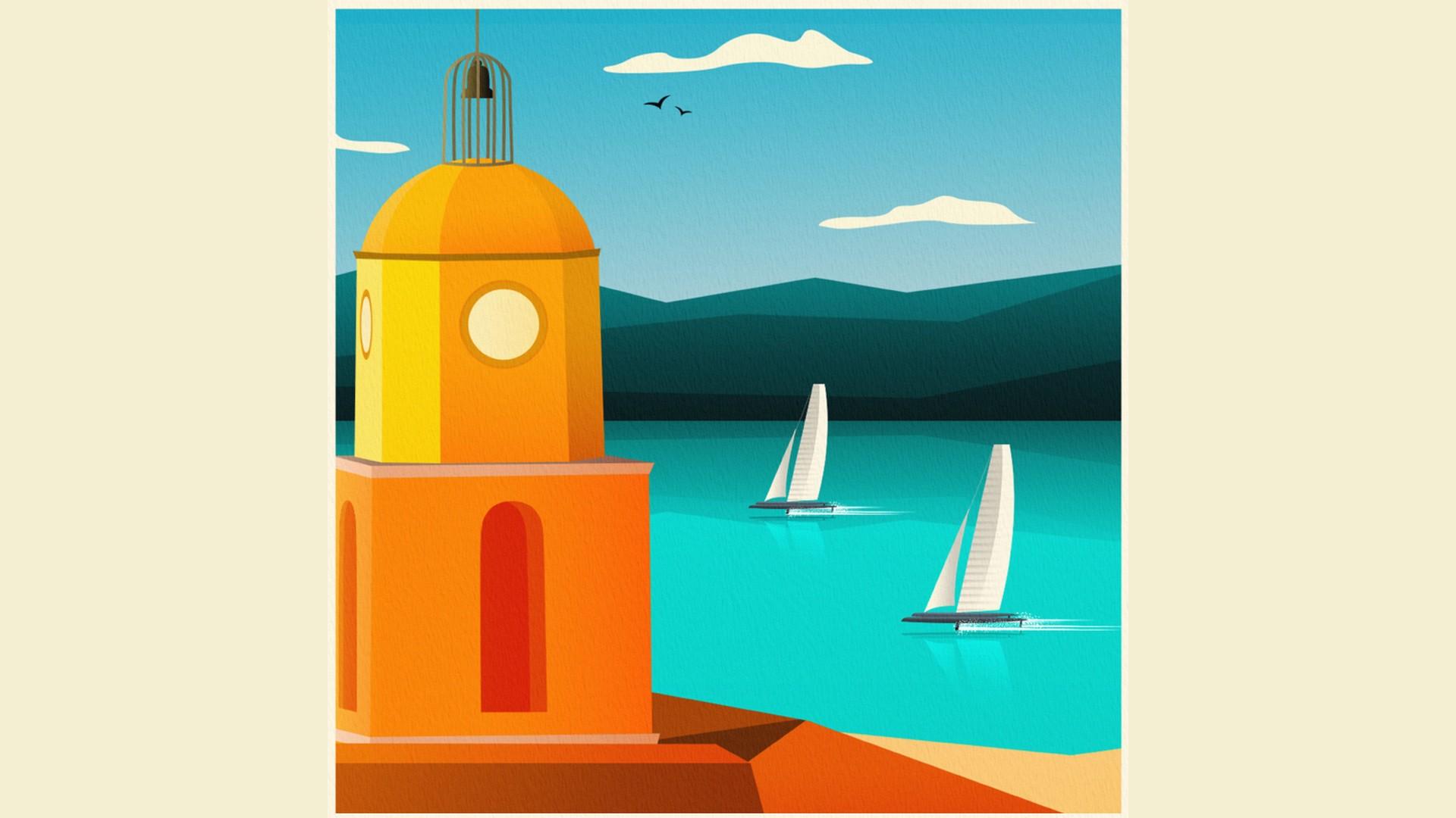 Sail GP St Tropez (1) Affiche 2021
