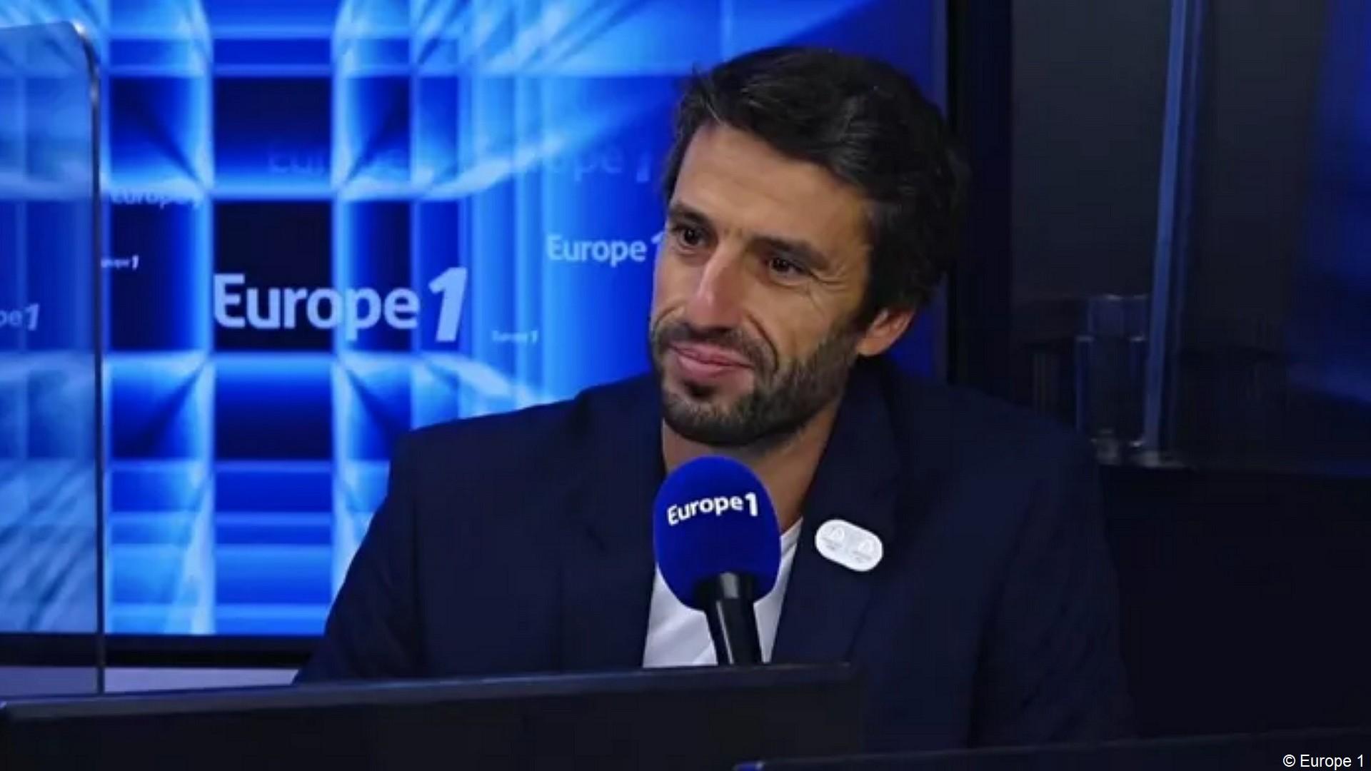 Tony Estanguet à Europe 1
