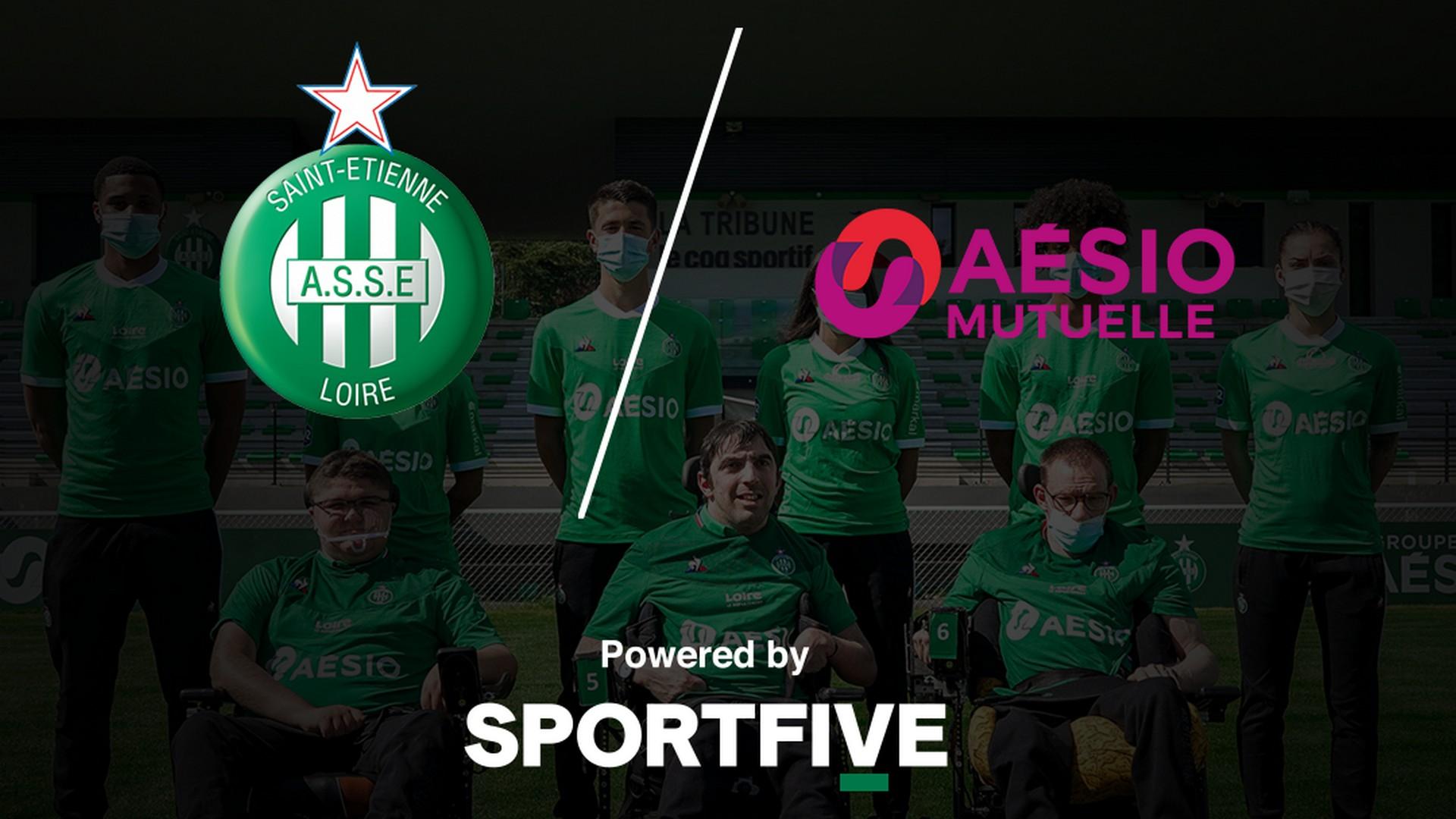 Aesio x AS Saint Etienne (Football) 2021