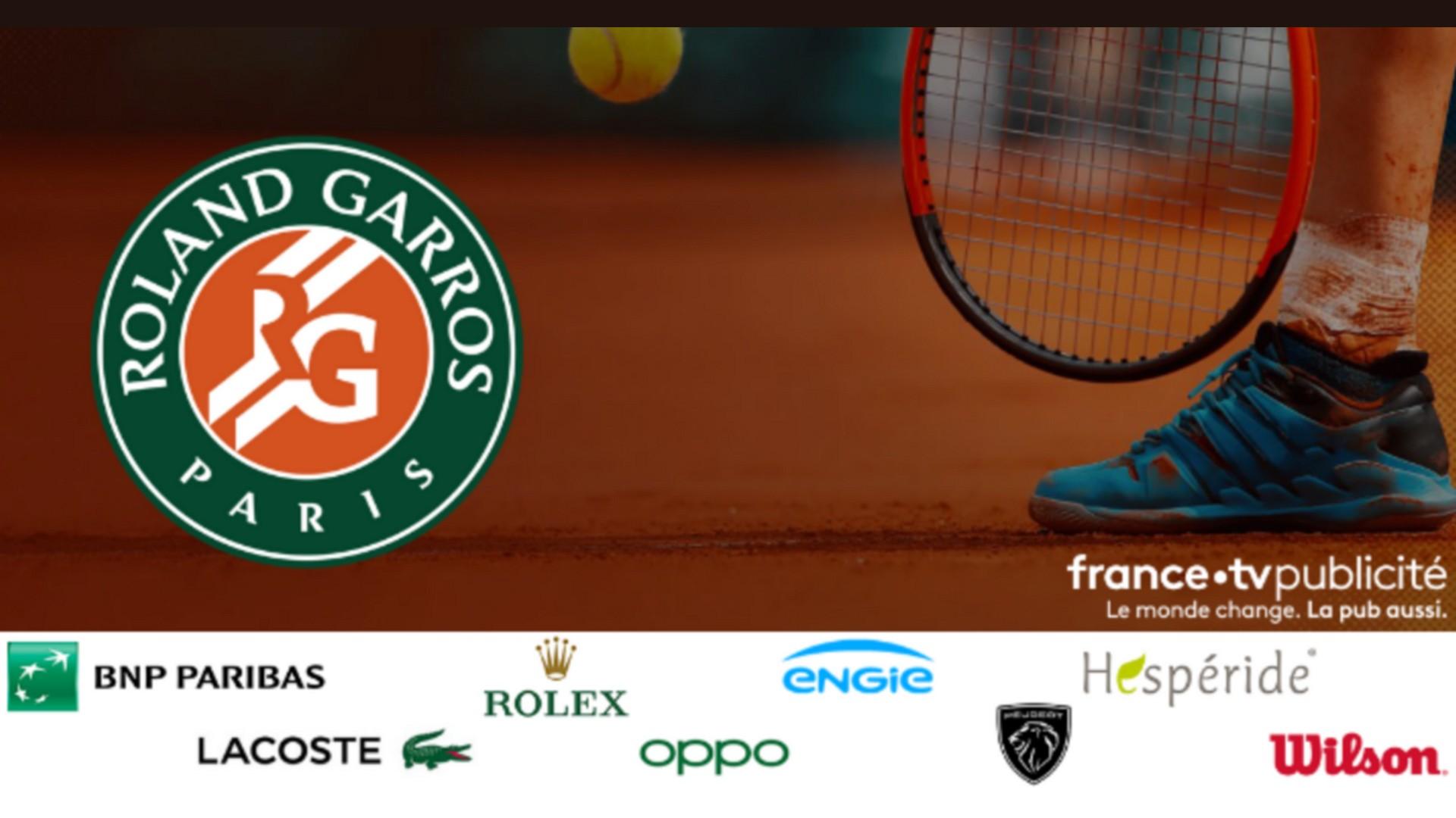 France TV Roland Garros Partenariats