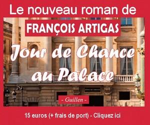 Livre François Artigas – Jour de Chance au Palace 300 x 250