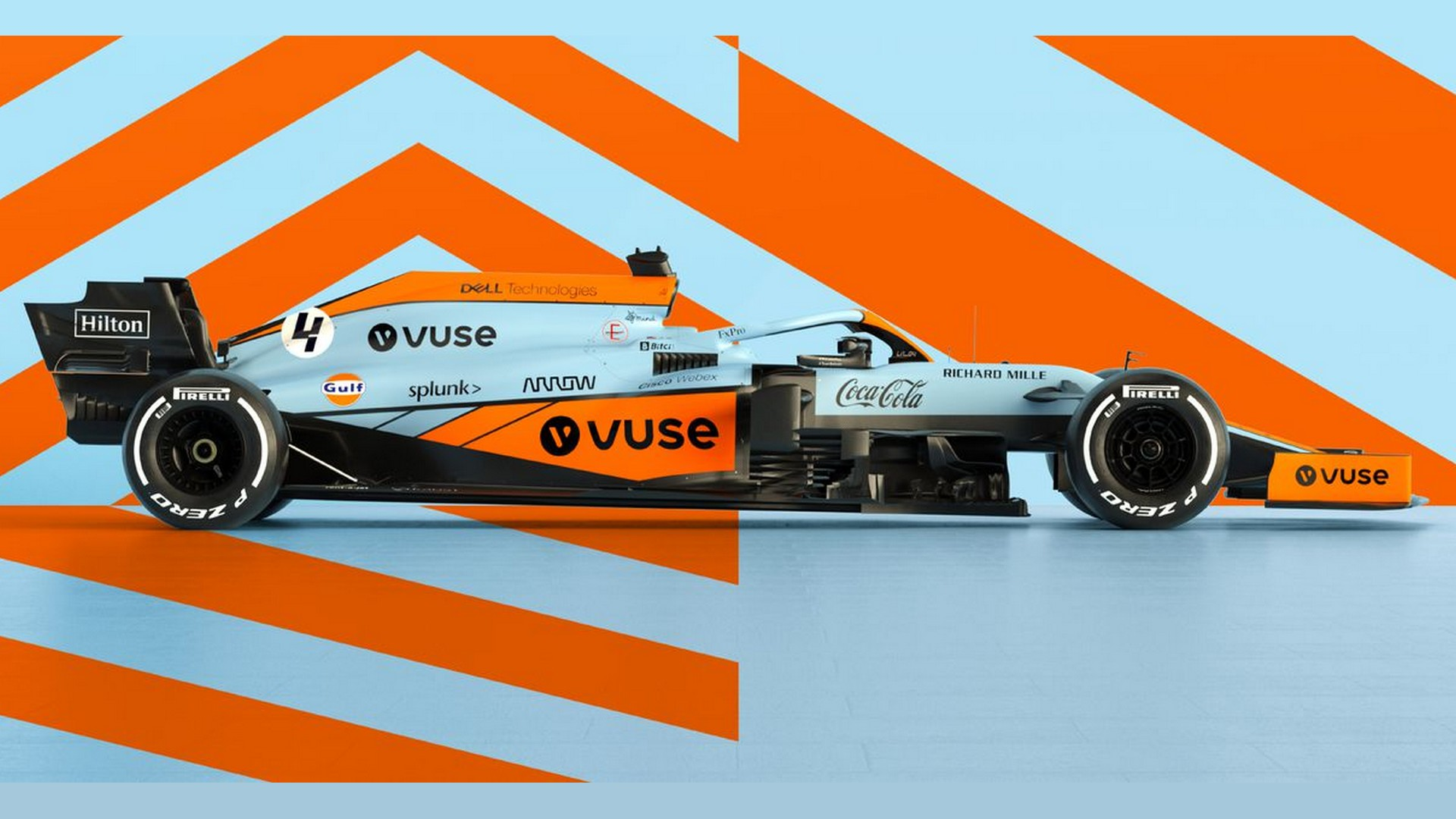 McLaren F1 x Gul GP Monaco 2021