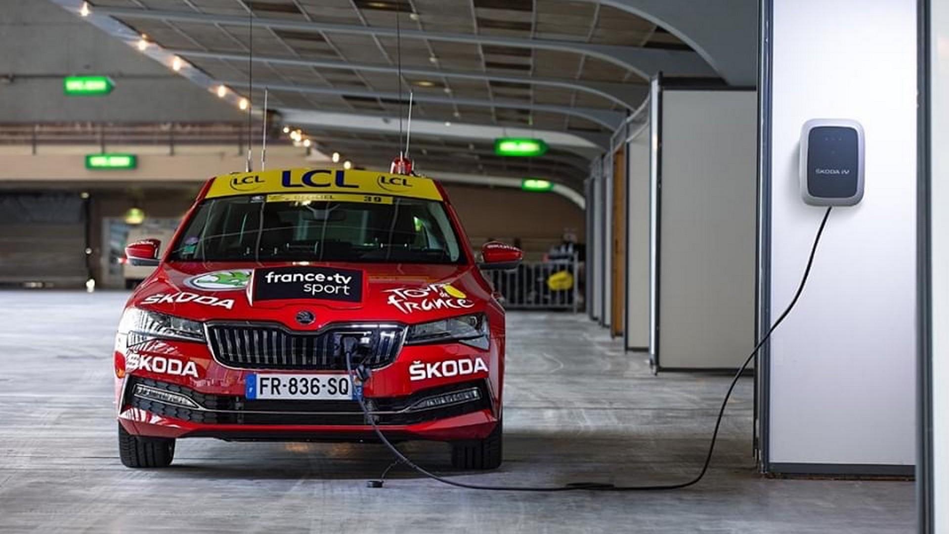 Skoda Tour de France 2021 (1) Electrique