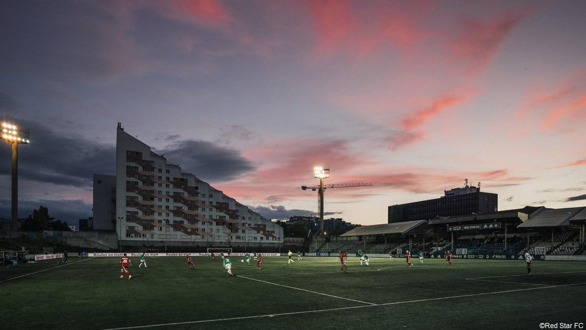 Stade Bauer Saint-Ouen (1) Red Star