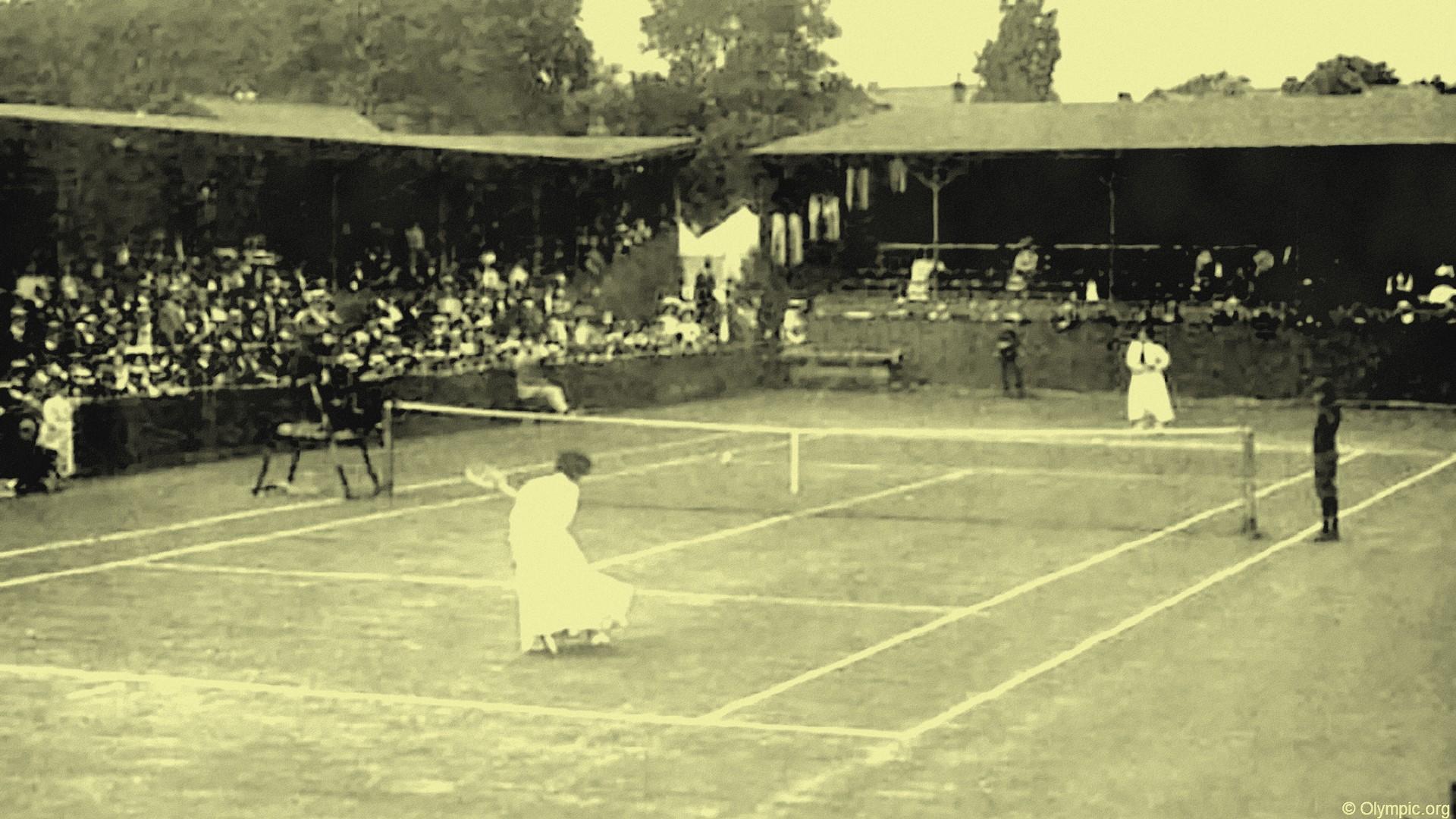 Tennis – Jeux olympiques Londres 1908