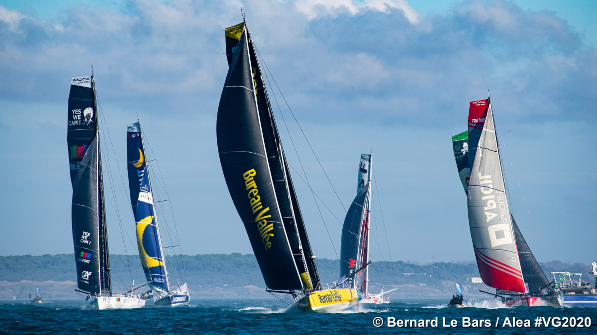 Vendée Globe 2020 (6) Départ Imoca