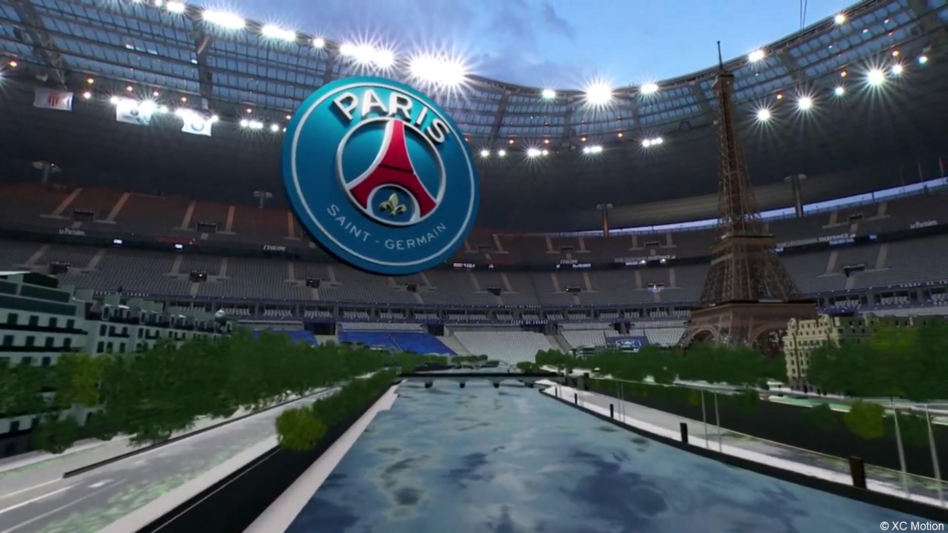 XD Motion réalité augmentée finale coupe de France 2021
