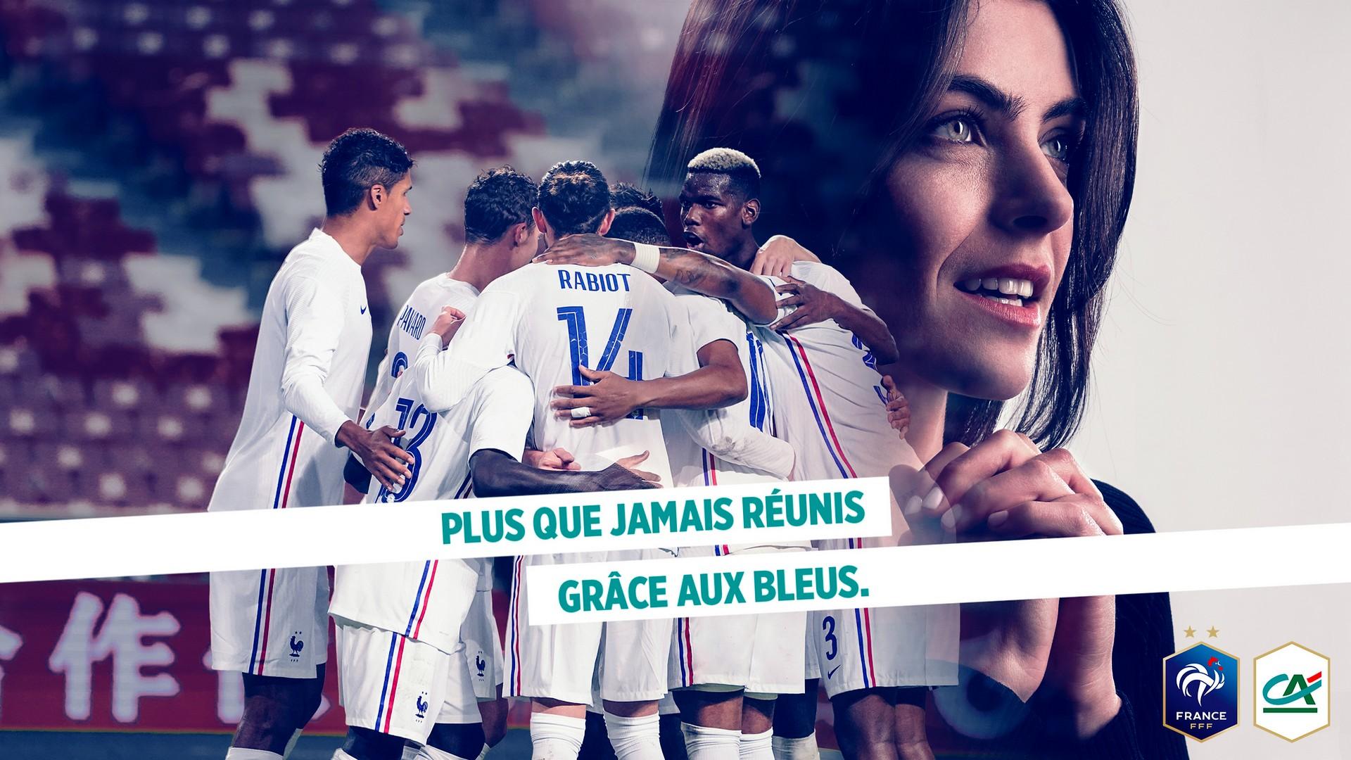 Crédit Agricole x Equipe de France (football) L fourmi 2021