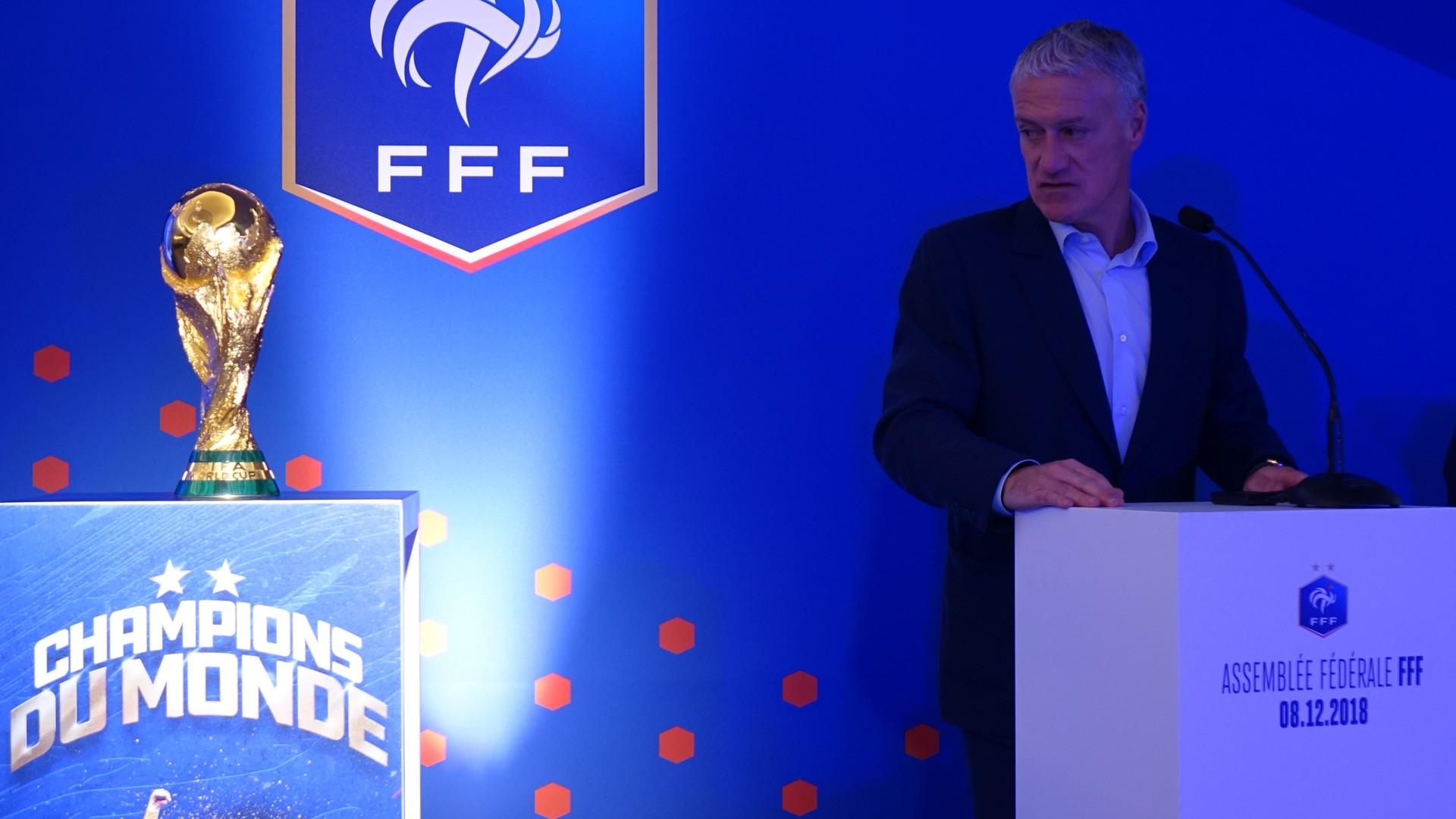Deschamps Didier (1) Football (novembre 2018) Coupe du Monde
