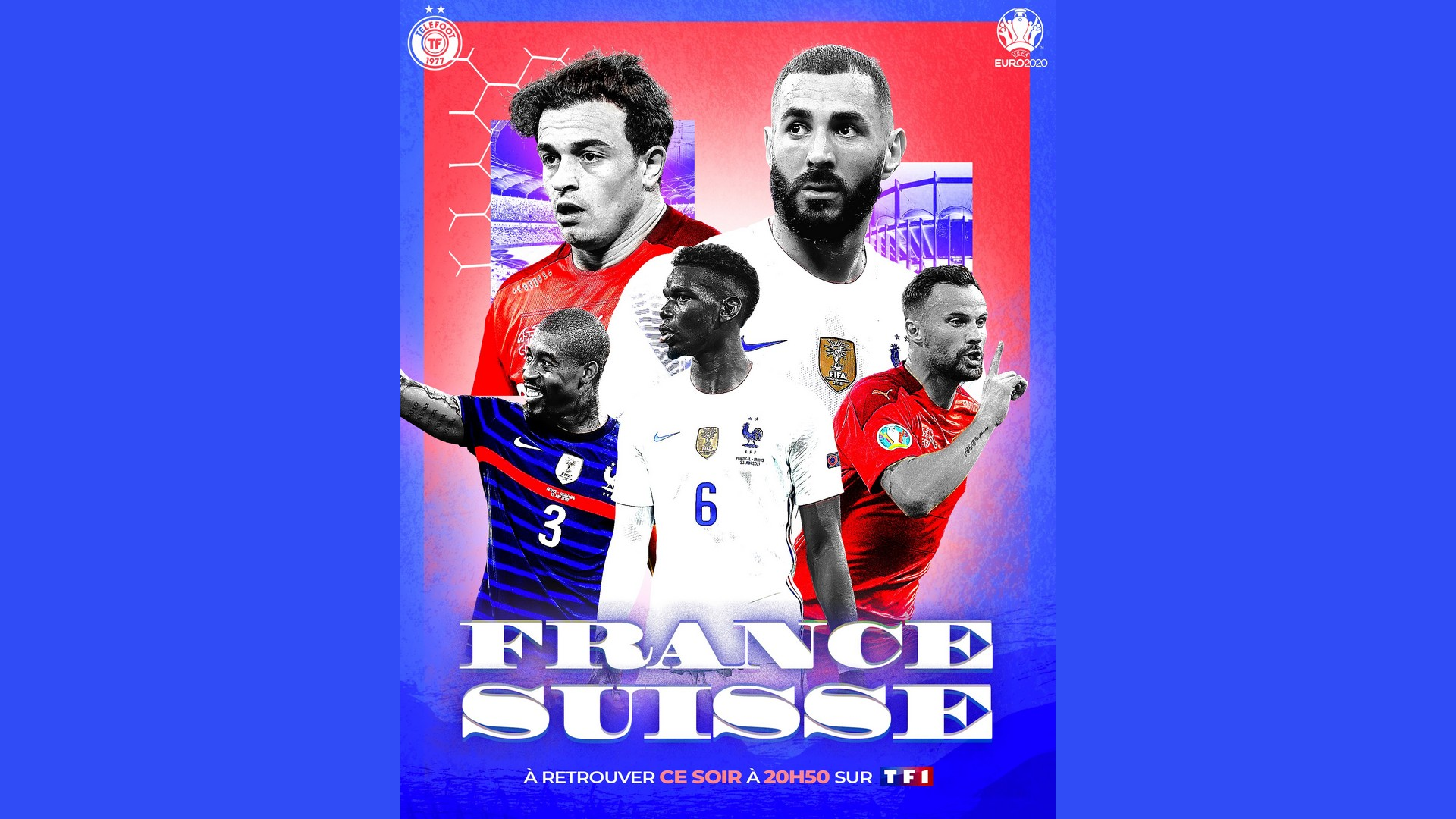 Football Euro 2020 – France Suisse – TF1