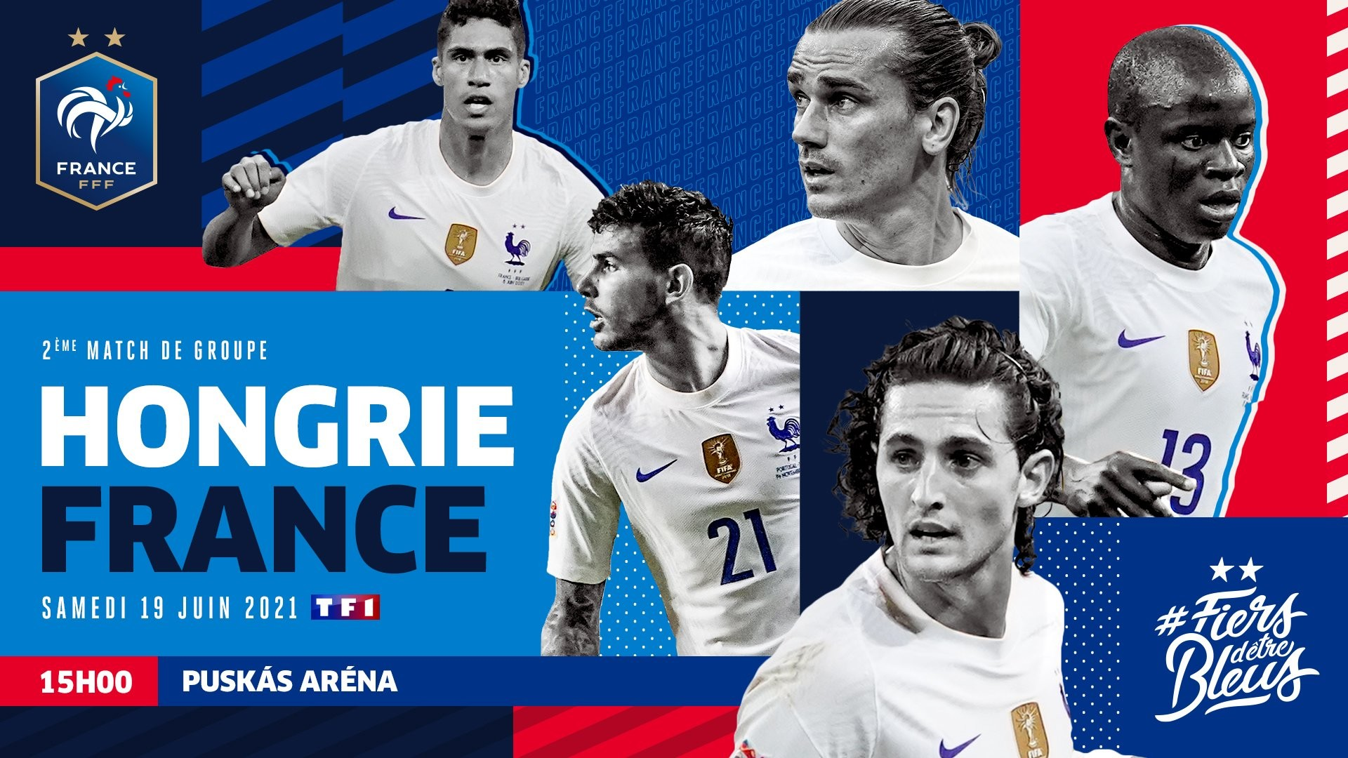 Football Euro 2020 – Hongrie France – TF1