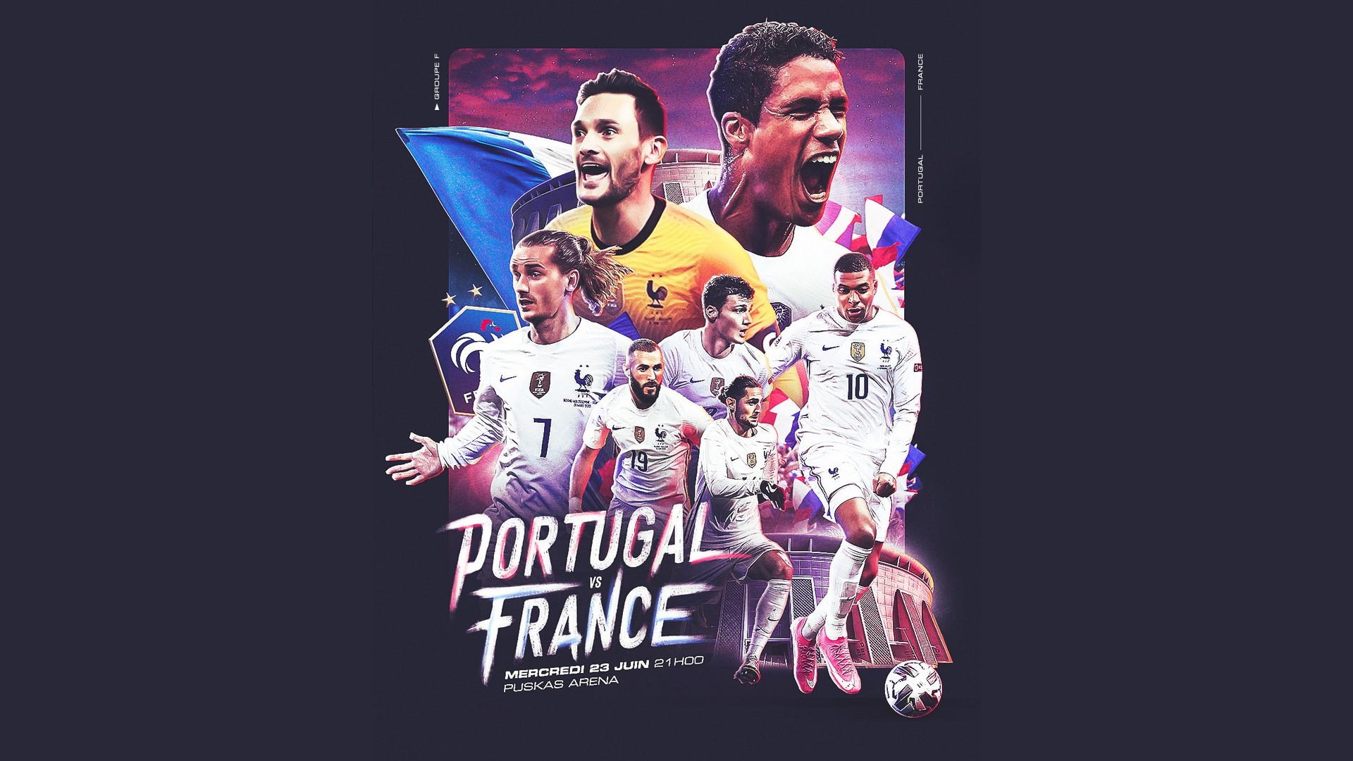 Football Euro 2020 – Portugal France – TF1