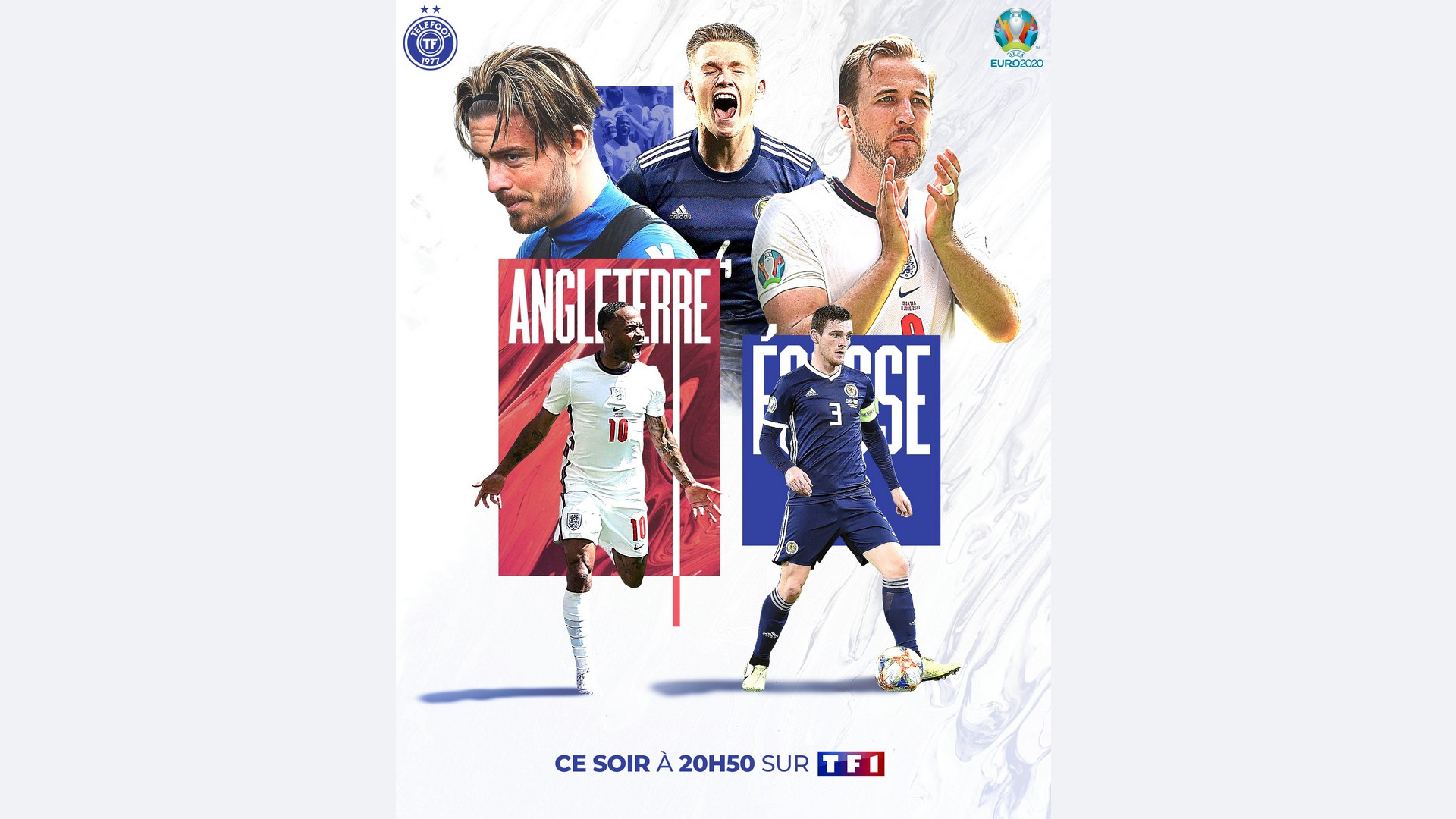 Football – Euro – Angleterre Ecosse – TF1
