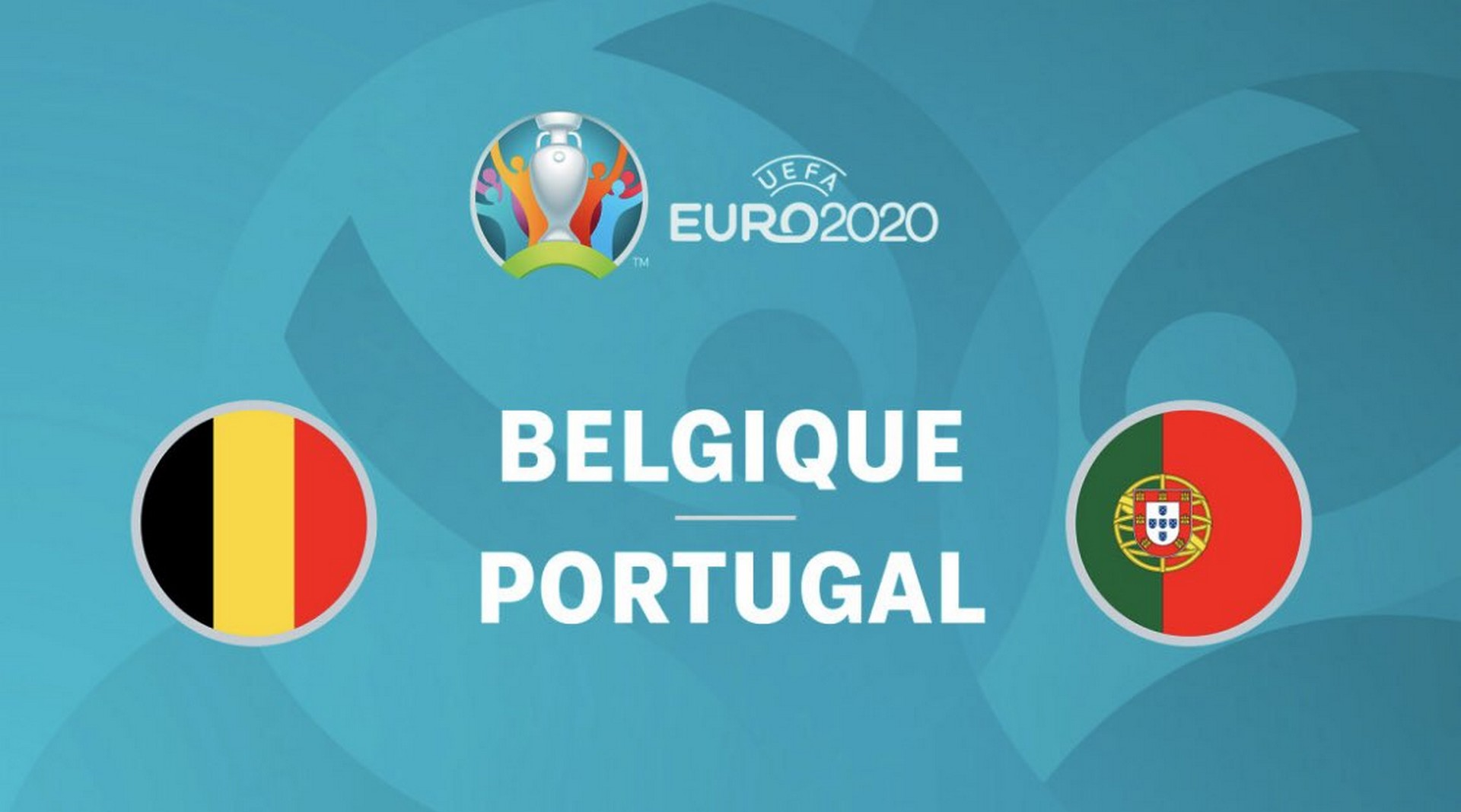 Football – Euro Belgique Portugal M6
