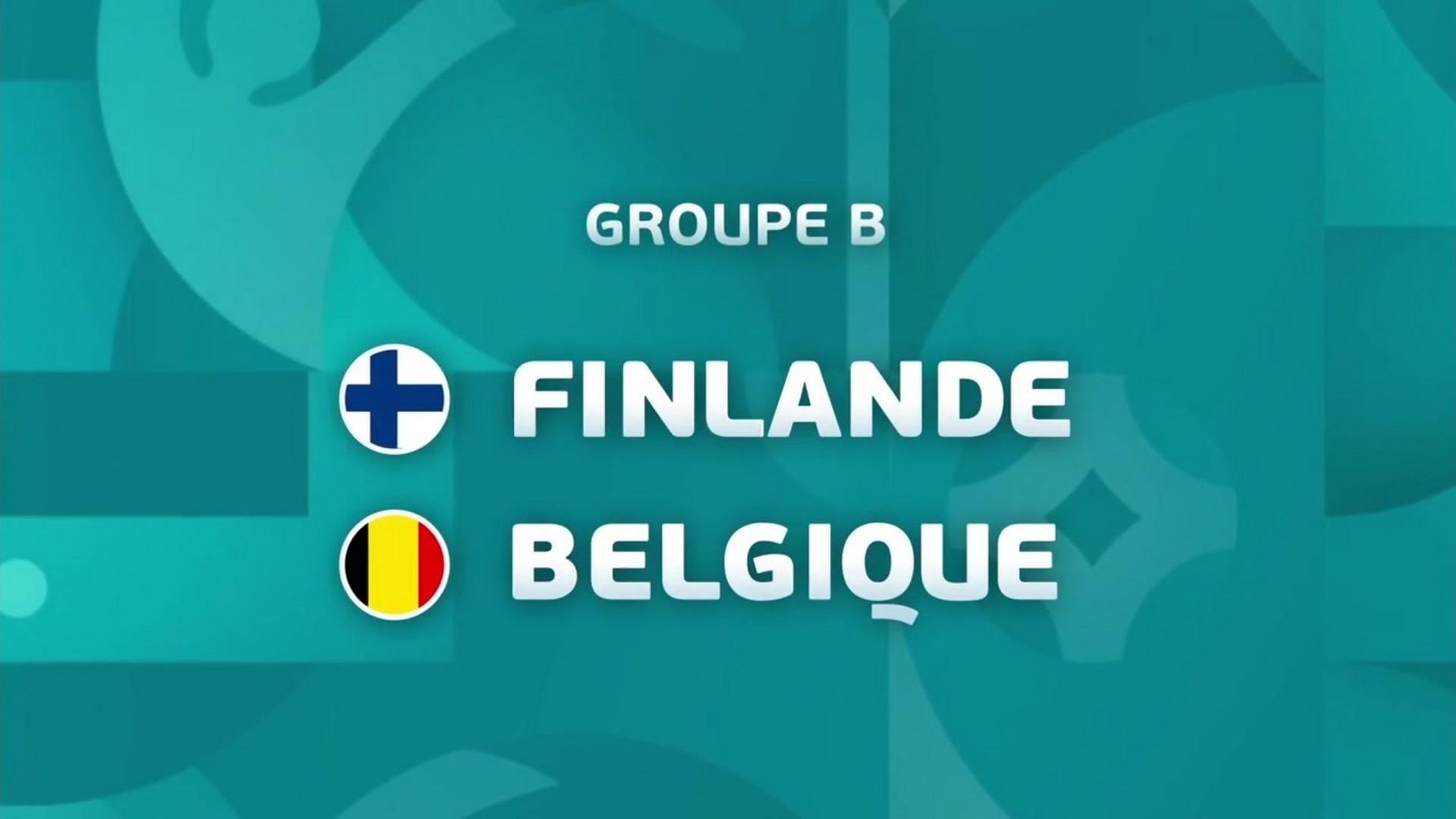 Football – Euro – Finalnde Belgique – TF1