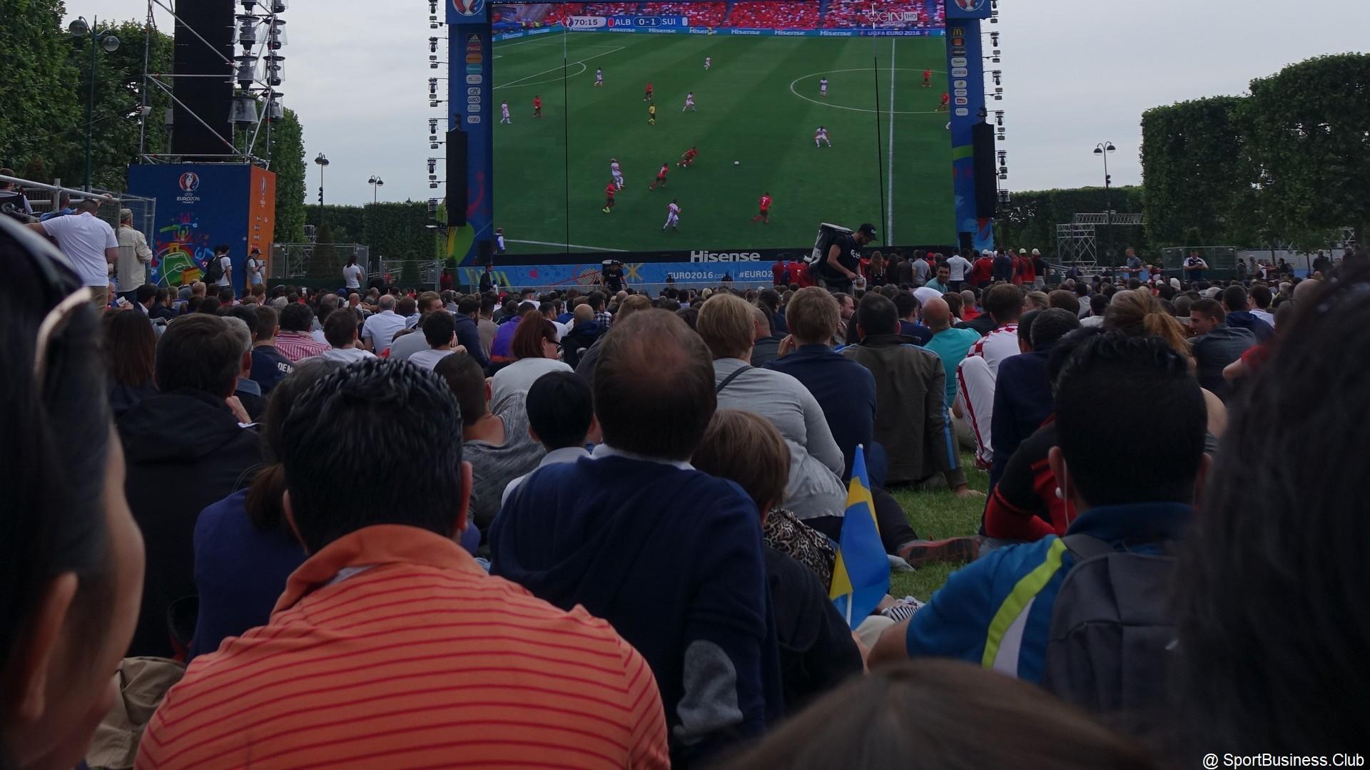 Football – Fan-zone – Euro 2016 – supporters