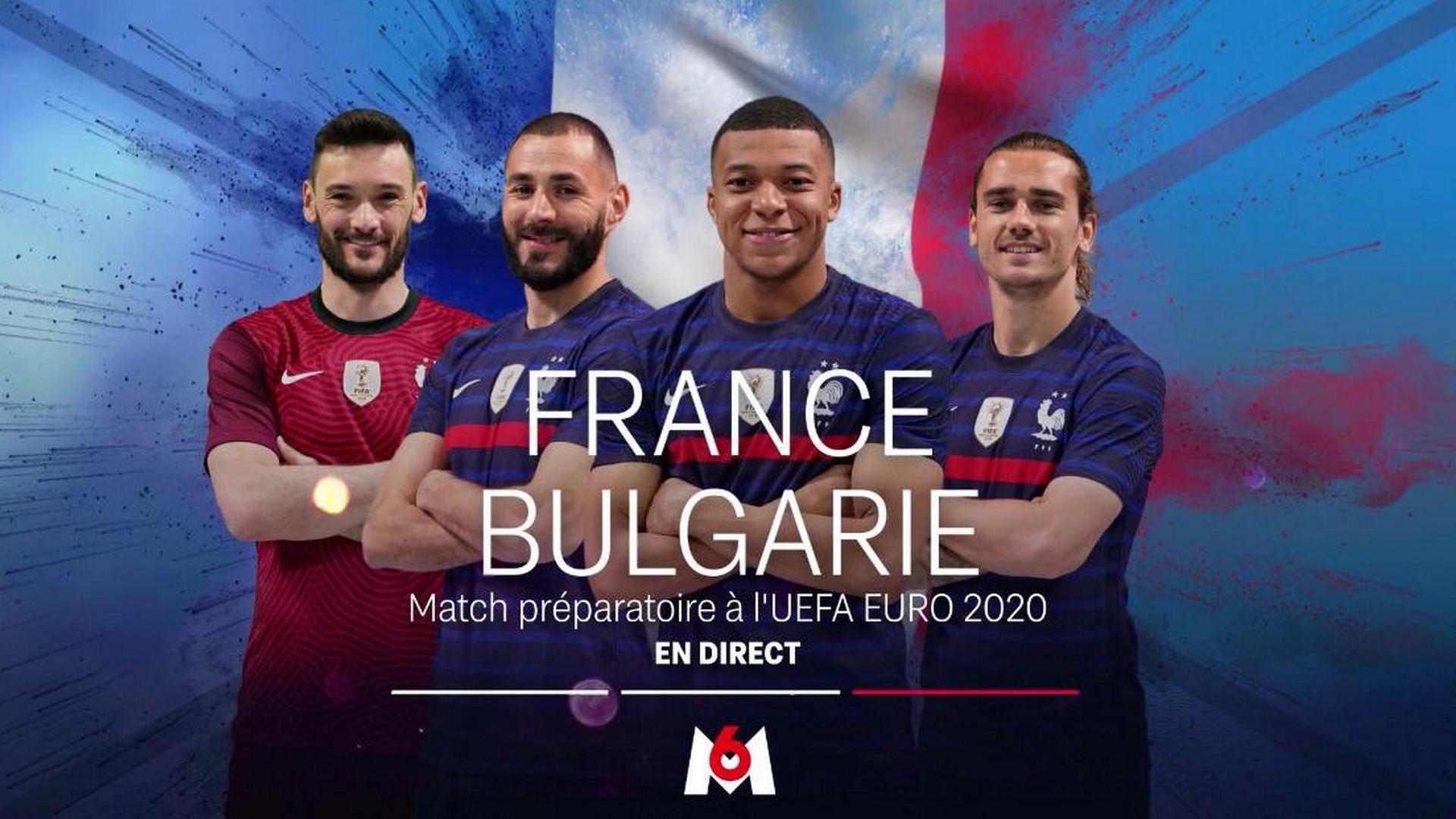 Football – France Bulgarie M6 8 juin 2021