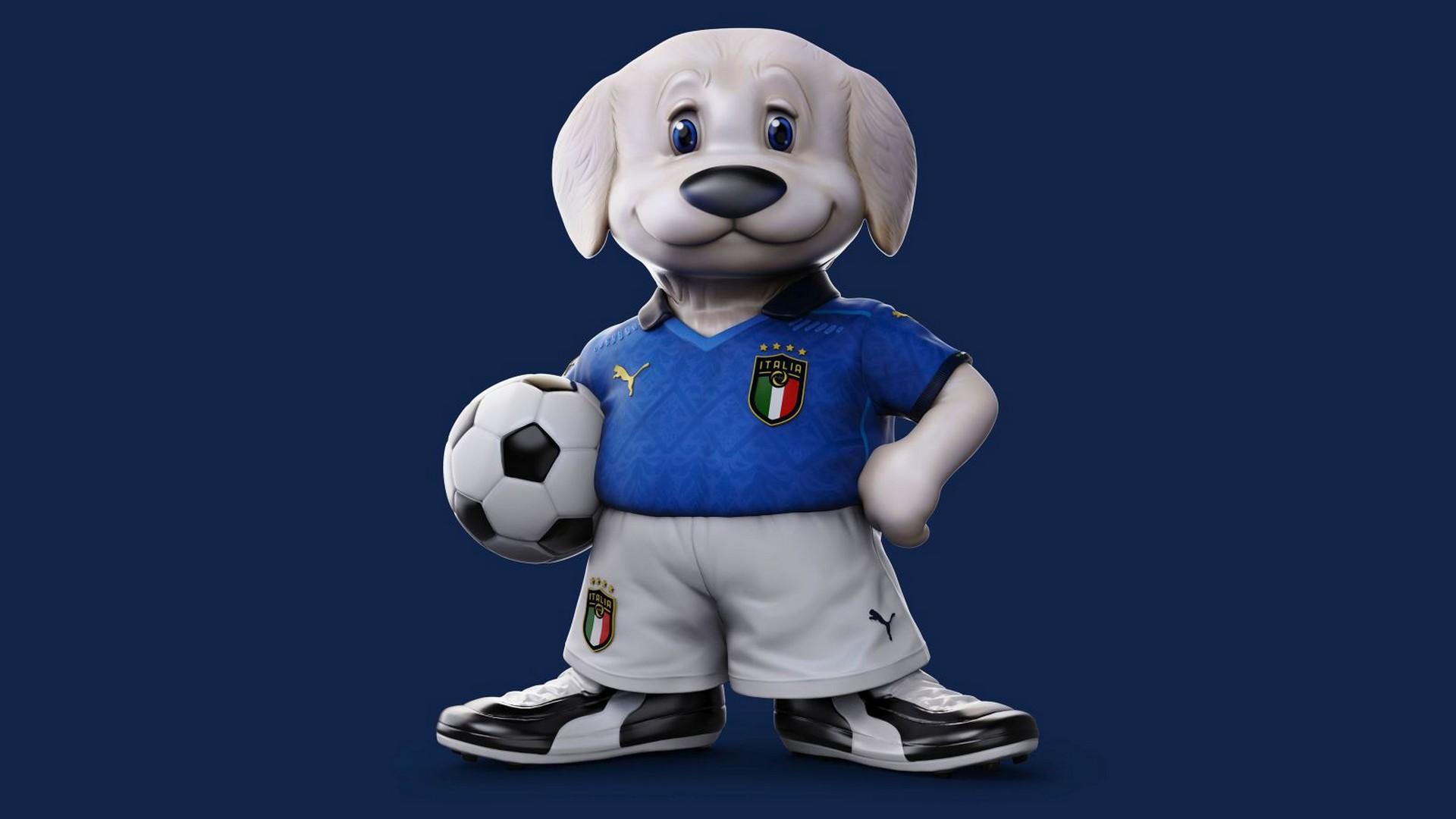Football Mascotte Italie