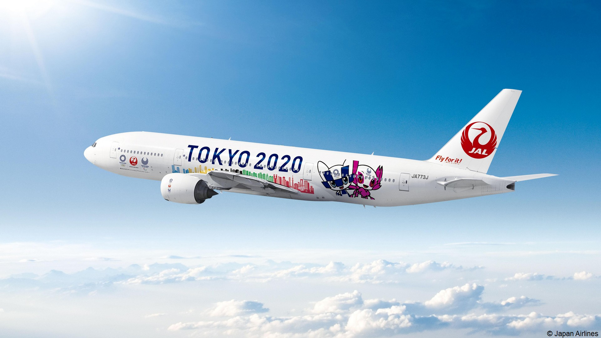 Japan Airlines x Tokyo 2020 (Jeux olympiques) 2021