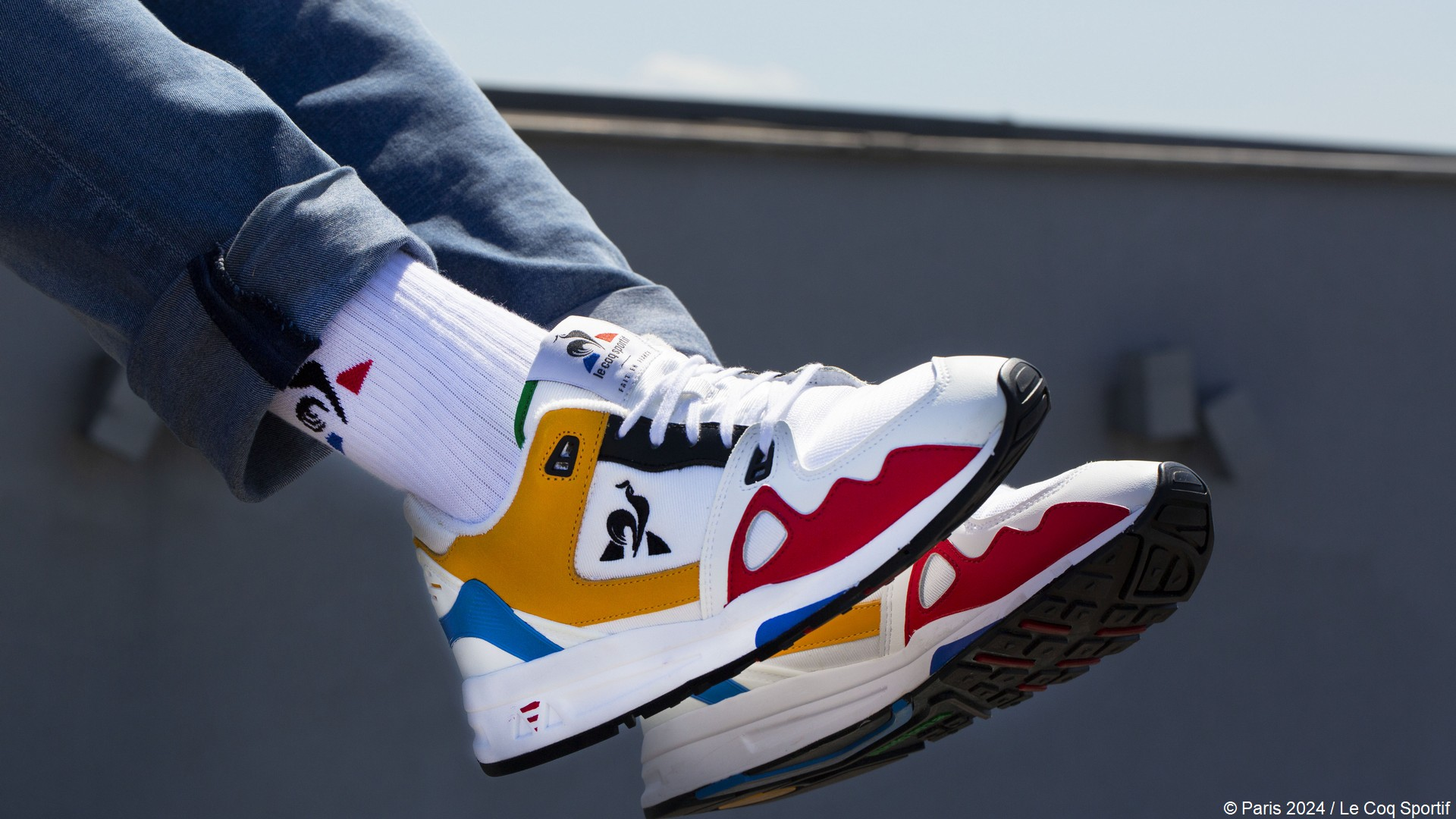 Le Coq Sportif x Paris 2024 (sneakers) 2021