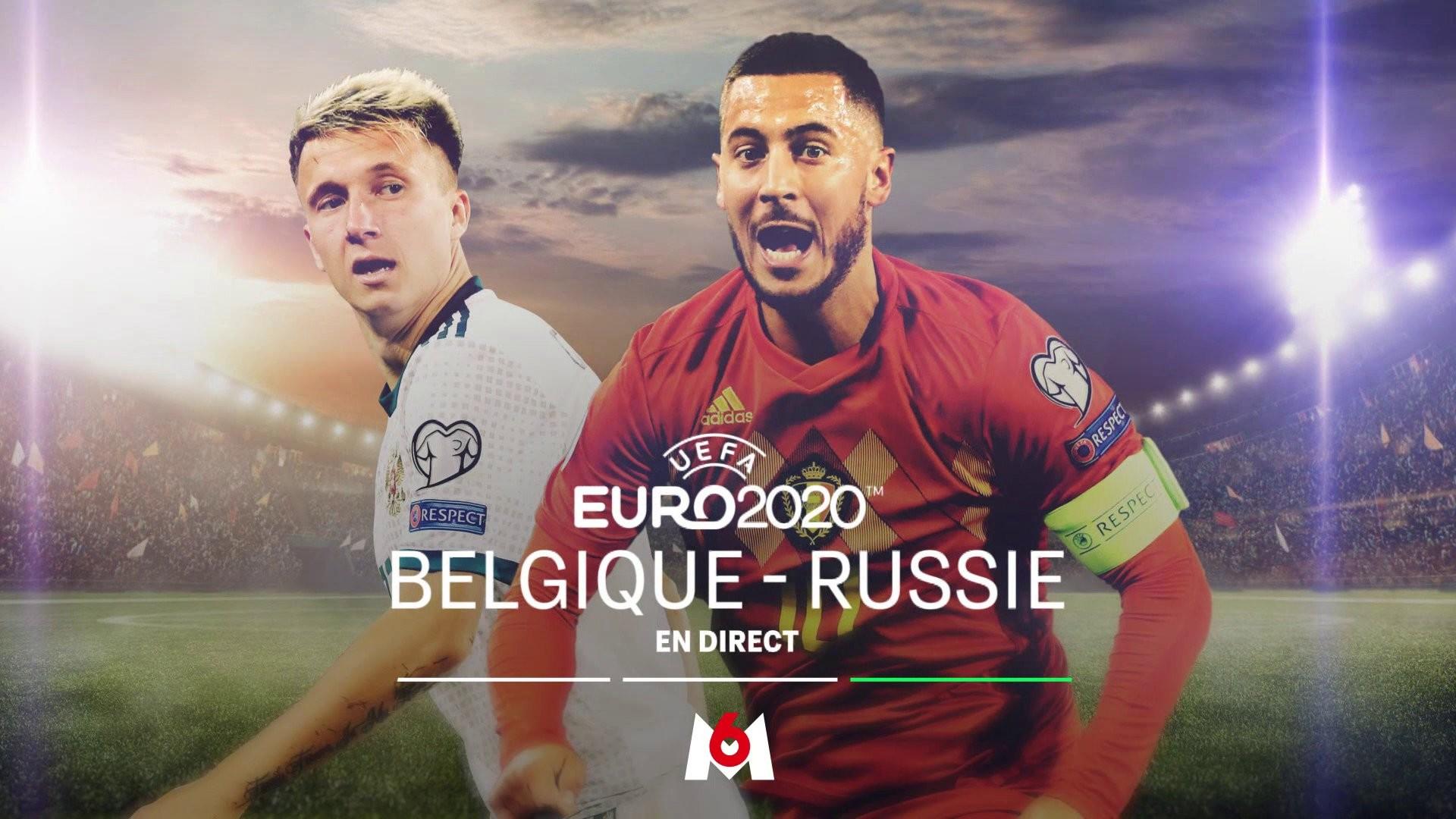 M6 Euro 2020 Belgique Russie