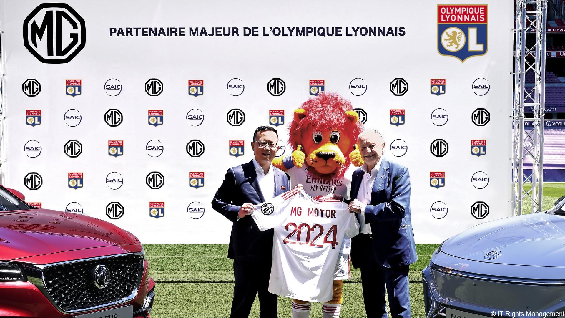 MG x Olympique Lyonnais (football) 2021