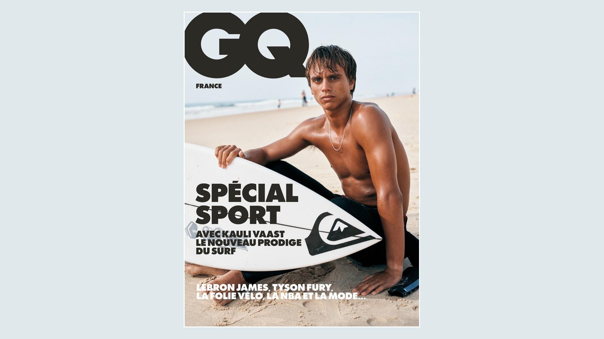 Magazines – GQ Juin 2021Spécial Sport
