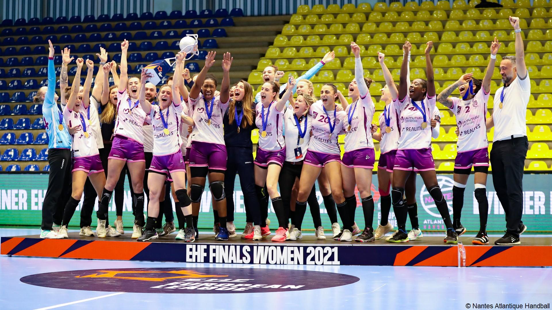 Nantes HB Féminine (3) EquipeTrophée EHF