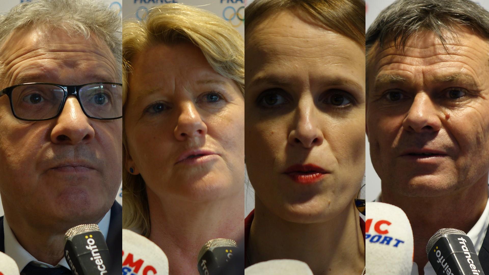 Quatre candidats CNOSF