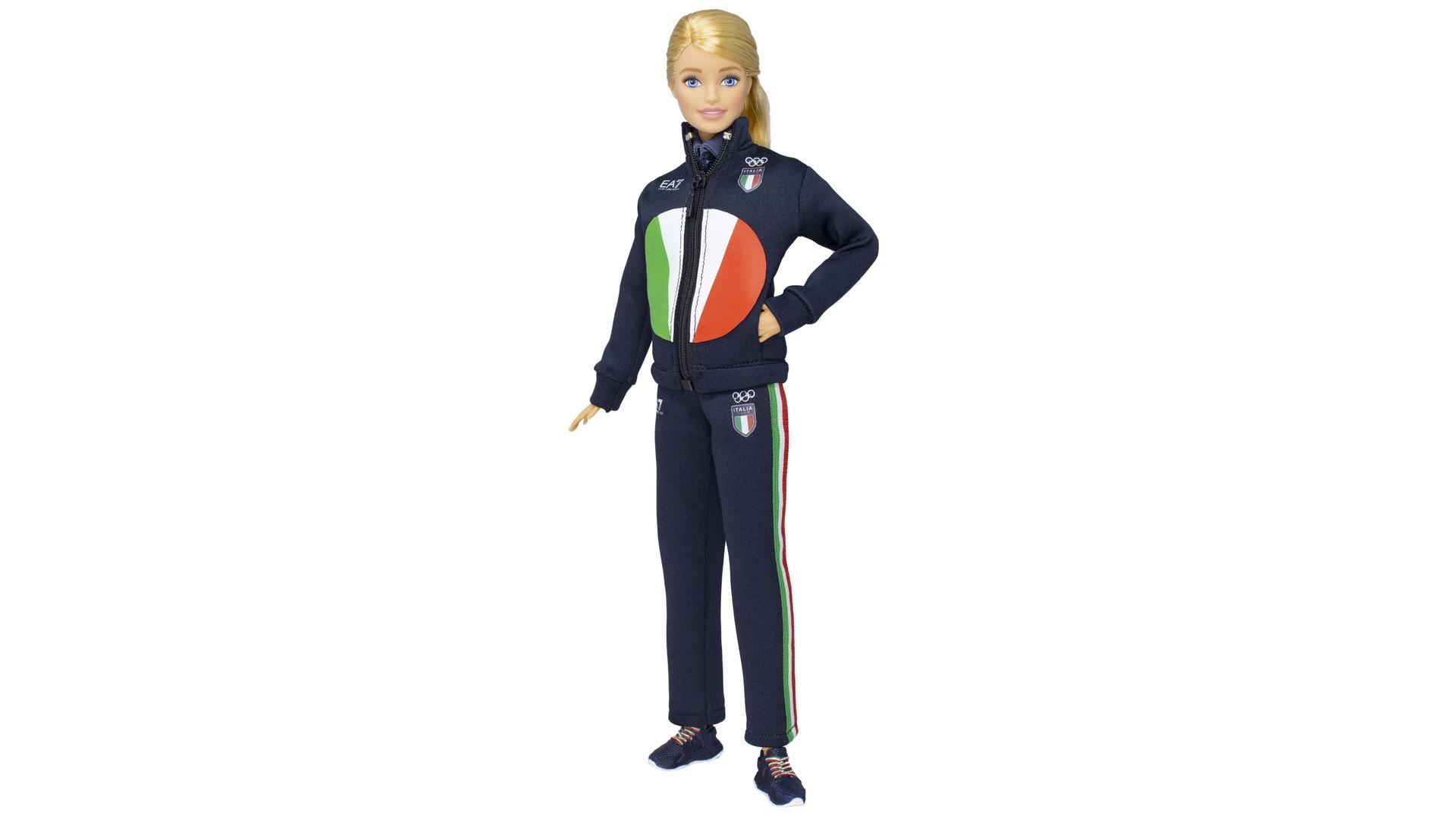 Barbie équipe italienne Tokyo 2020