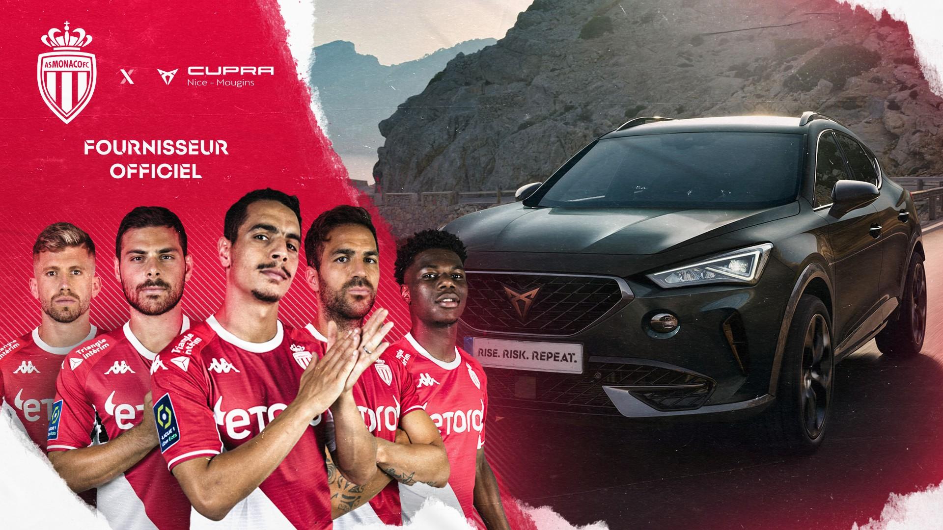 Cupra x AS Monaco (football) 2021