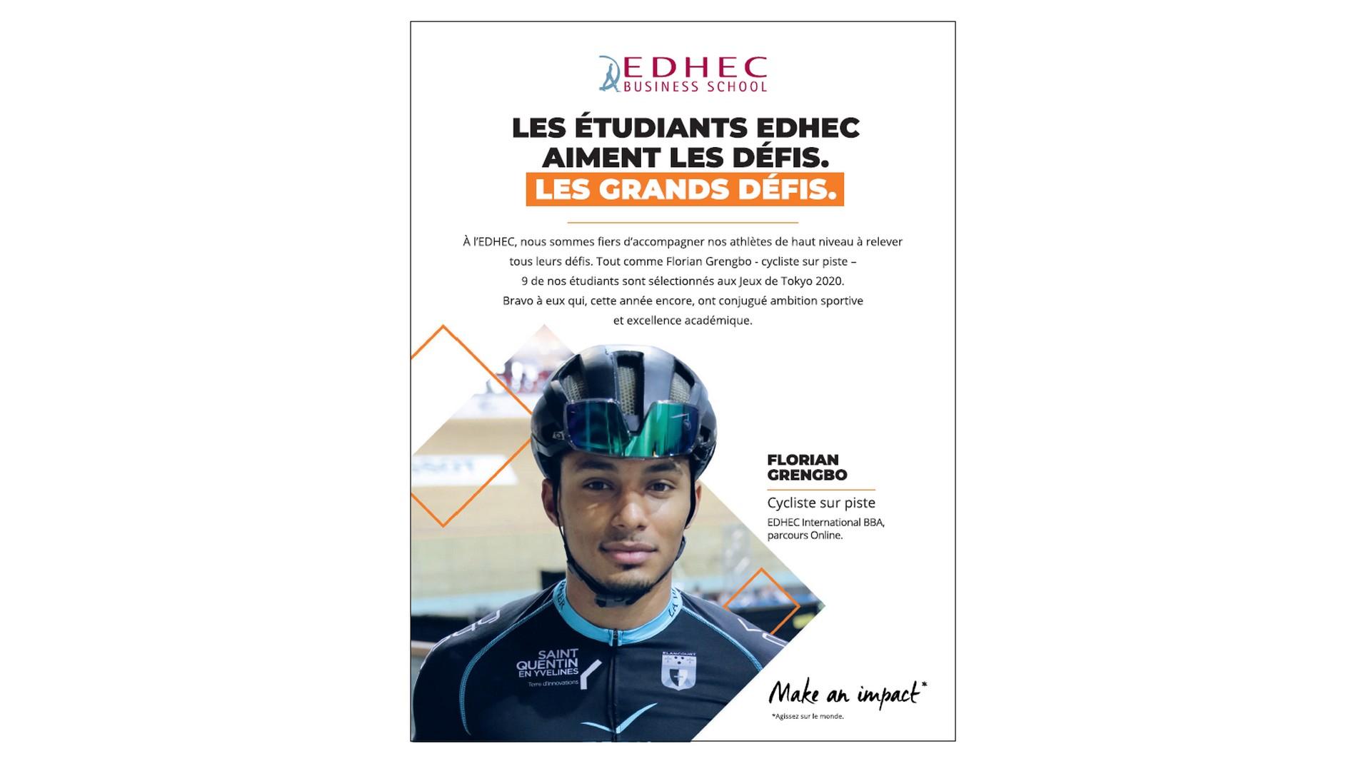 Ecole – EDHEC Publicité 2021