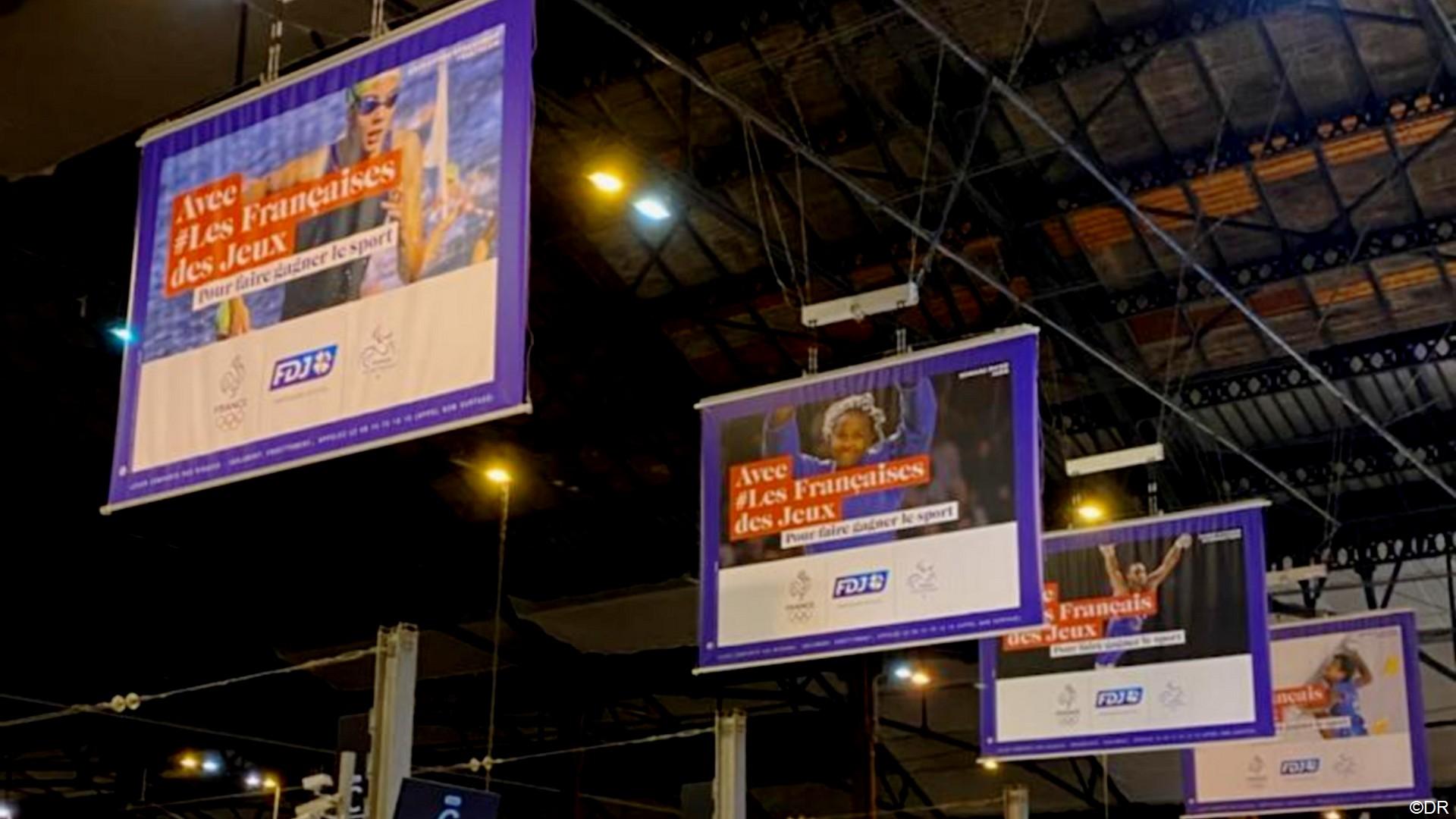 FDJ Tokyo 2020 Campgne affichage Gare de Lyon