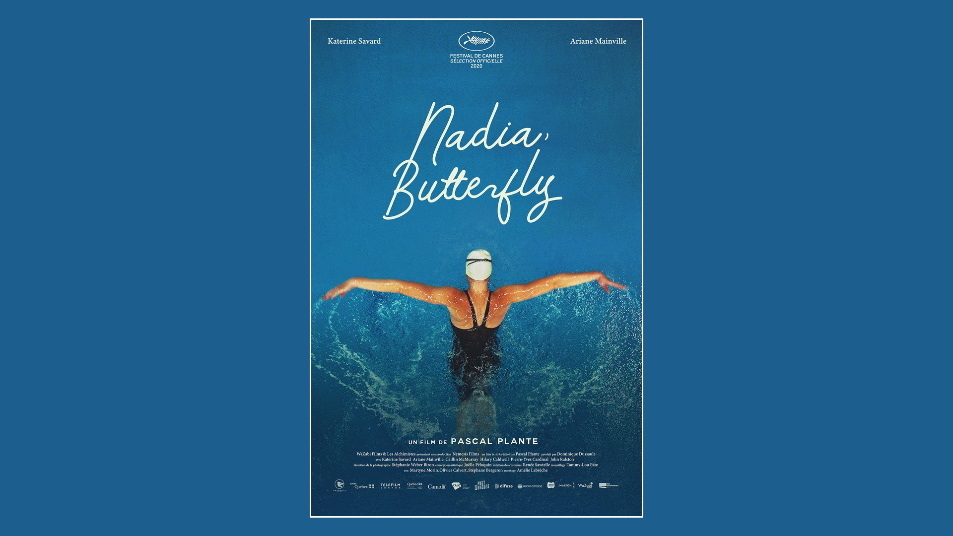 Film – Nadia Butterfly (2021) affiche