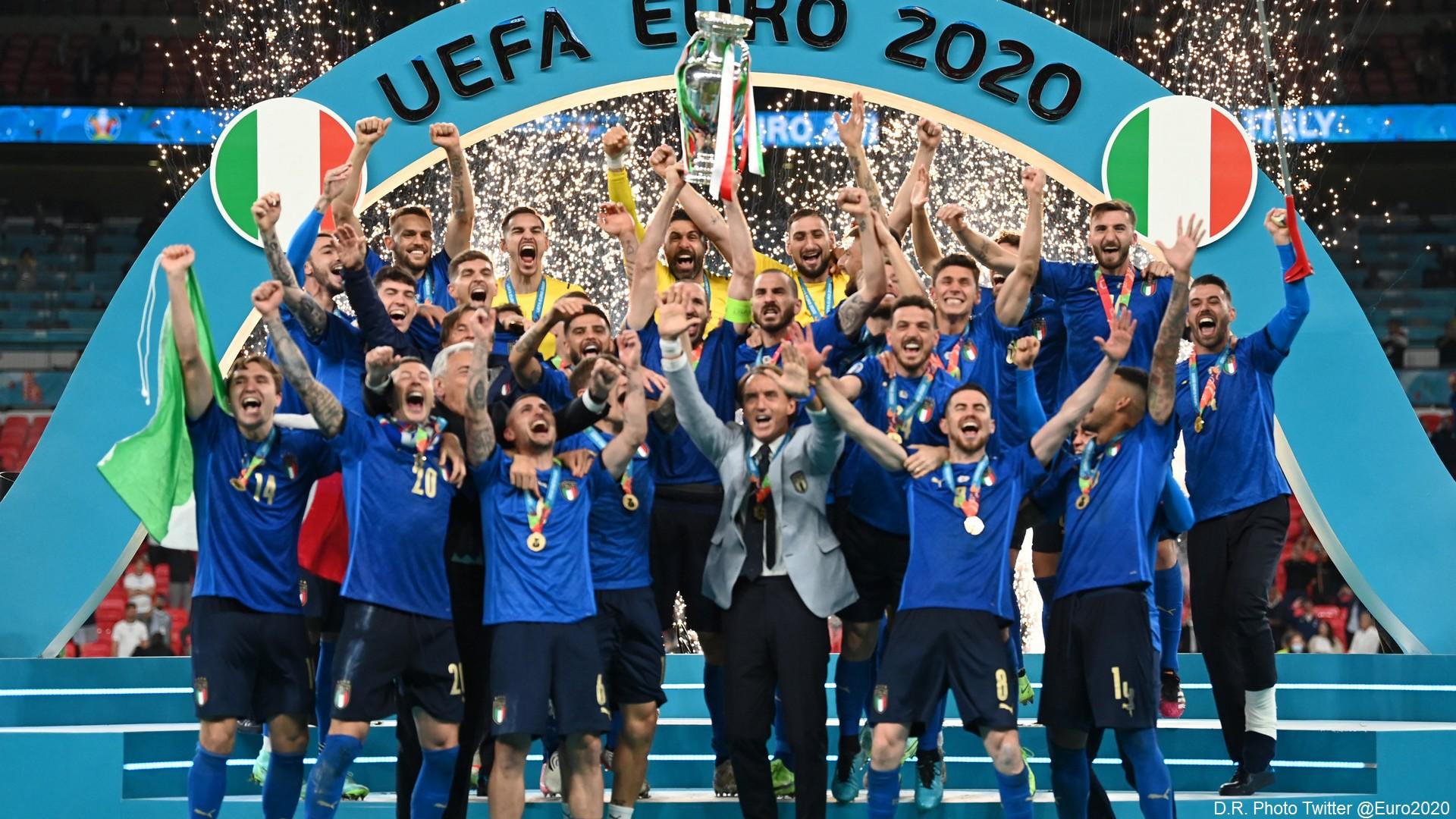 Football Euro 2020 – Italie Angleterre