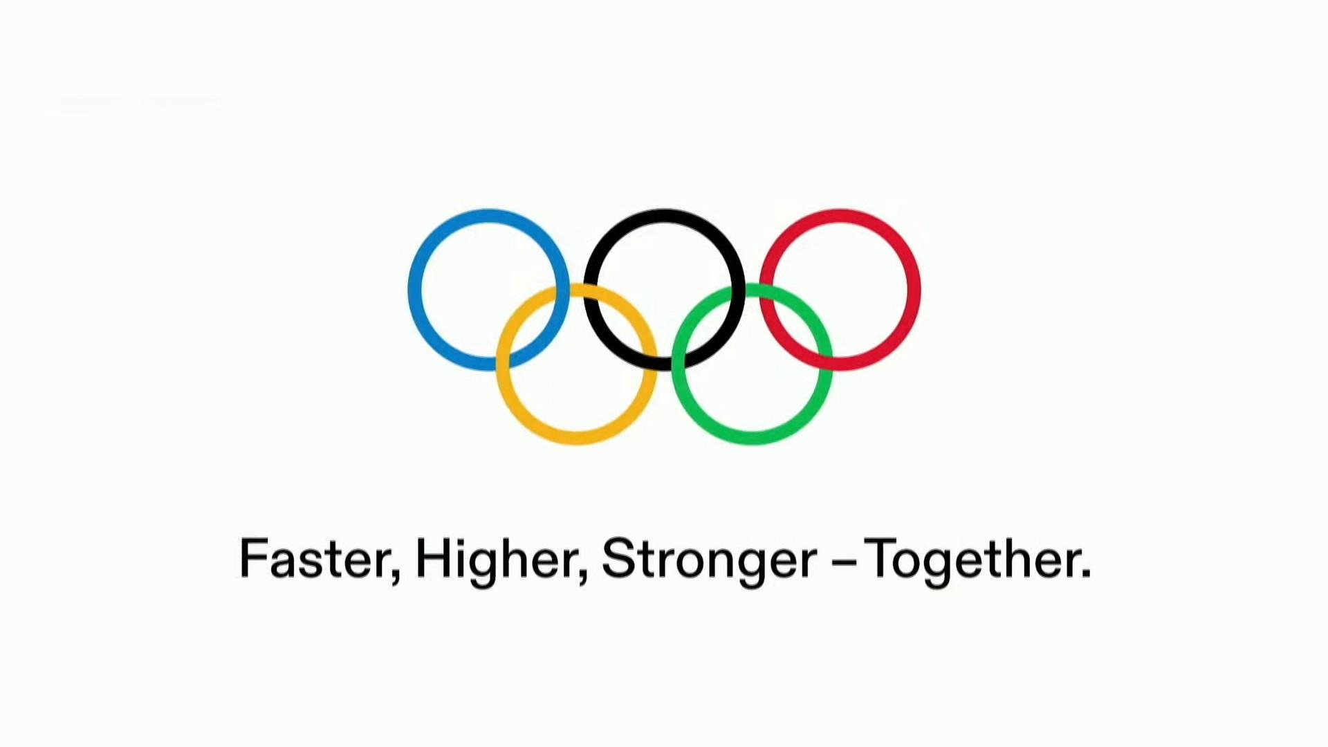 Jeux olympiques Anneaux Ensemble