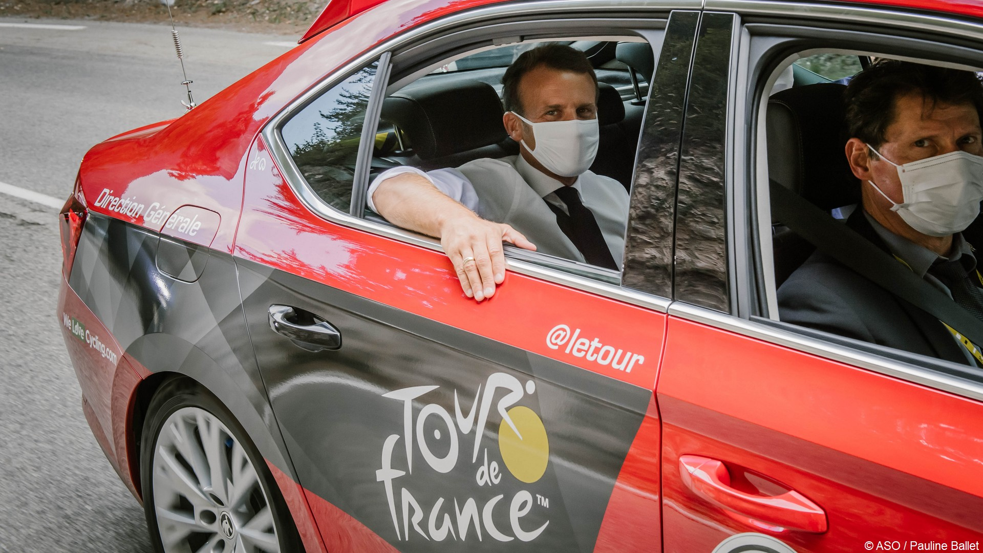 Macron Emmanuel (4) Tour de France