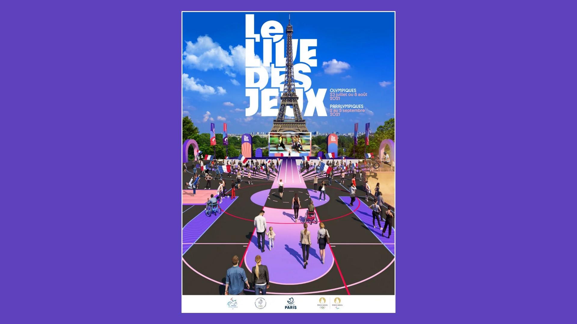 Paris 2024 – Le Live des Jeux (2021) Trocadéro