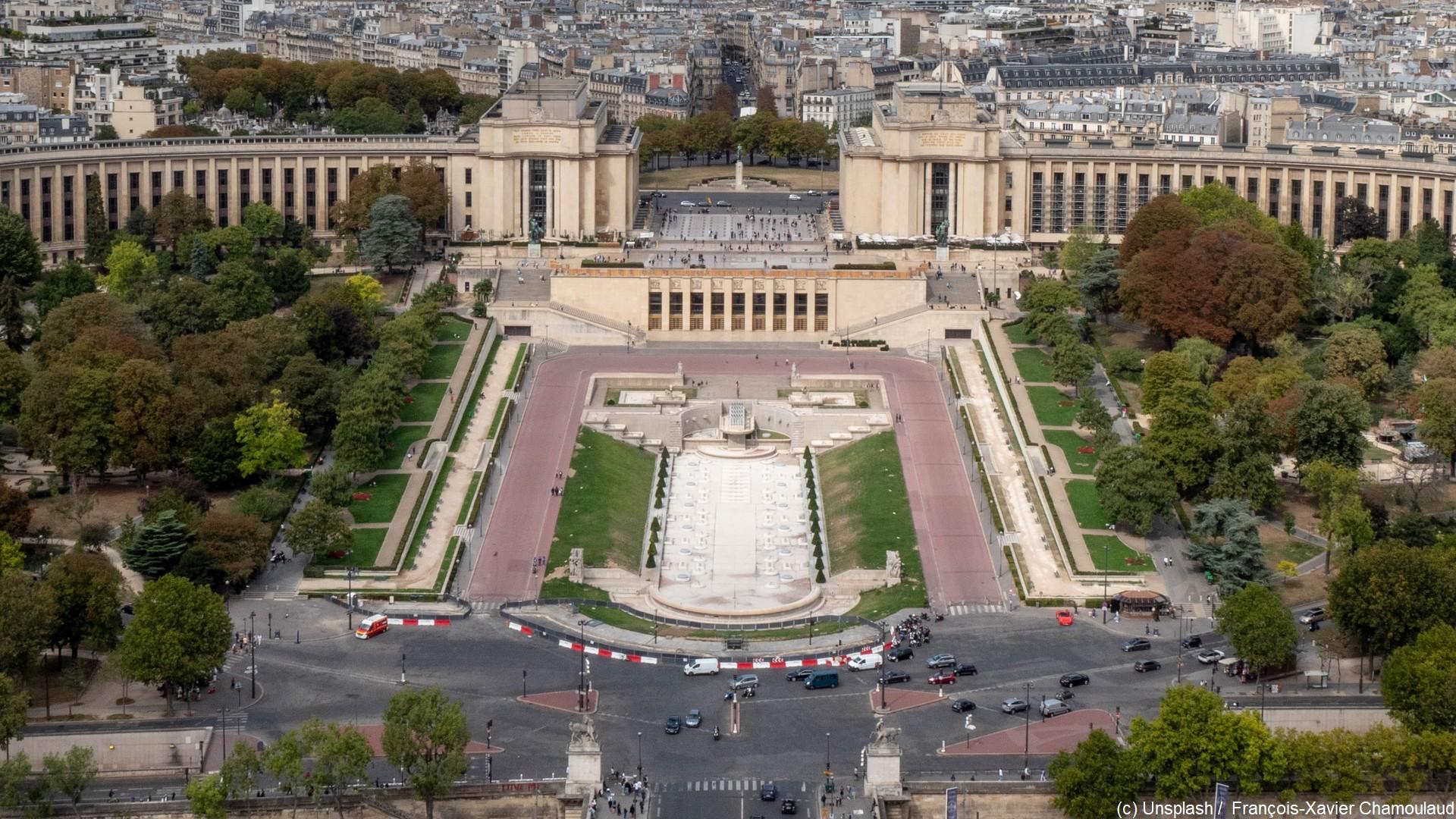 Paris – Trocadéro (c) Unsplash François-Xavier Chamoulaud