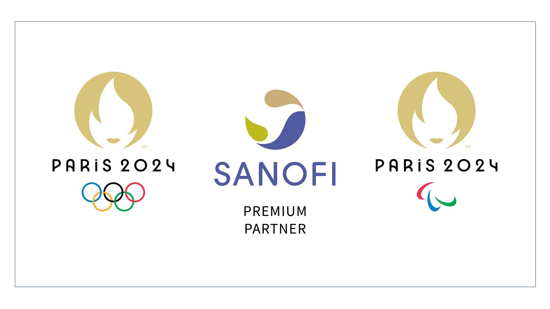 Sanofi x Paris 2024 (pharmacie) logo 2021
